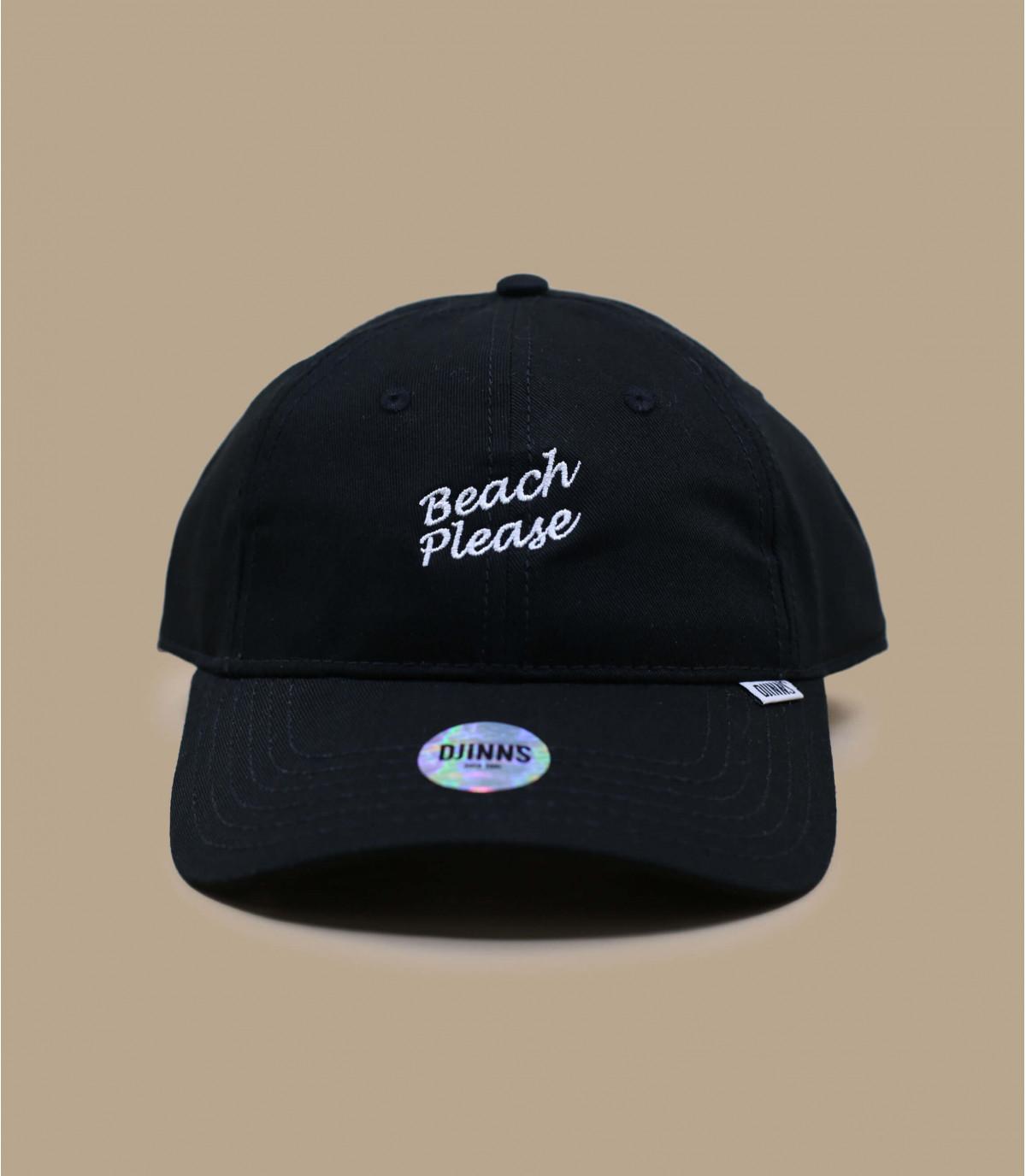 cappello da spiaggia per favore