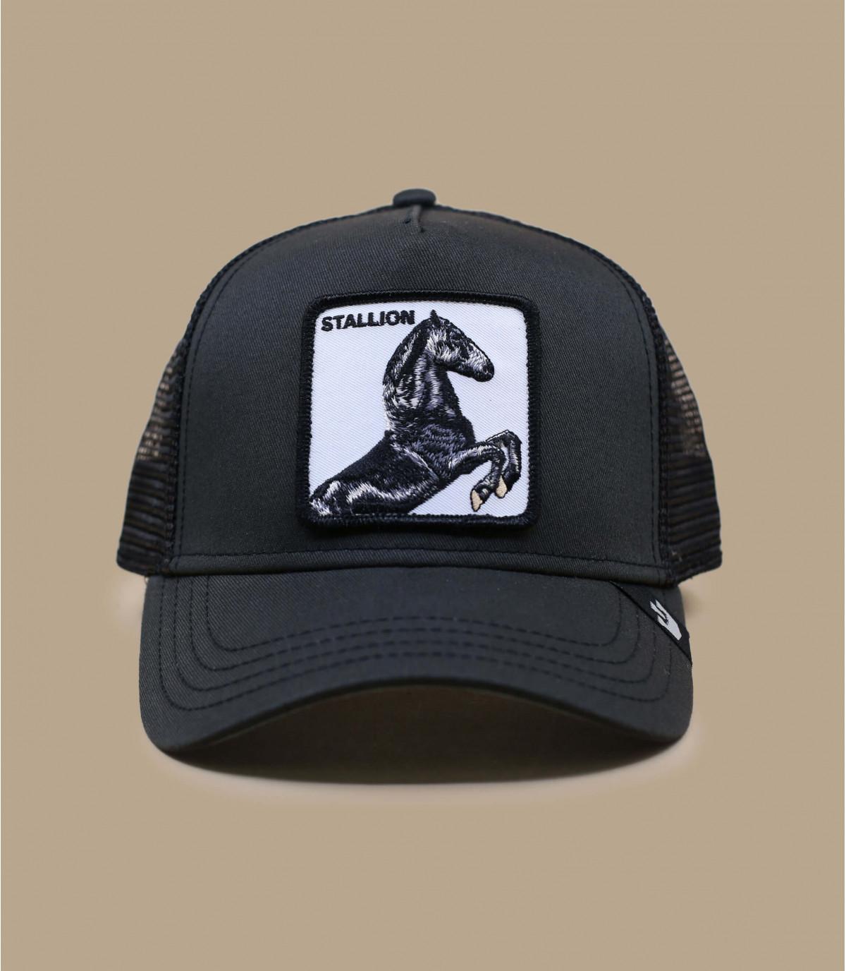 trucker cavallo nero