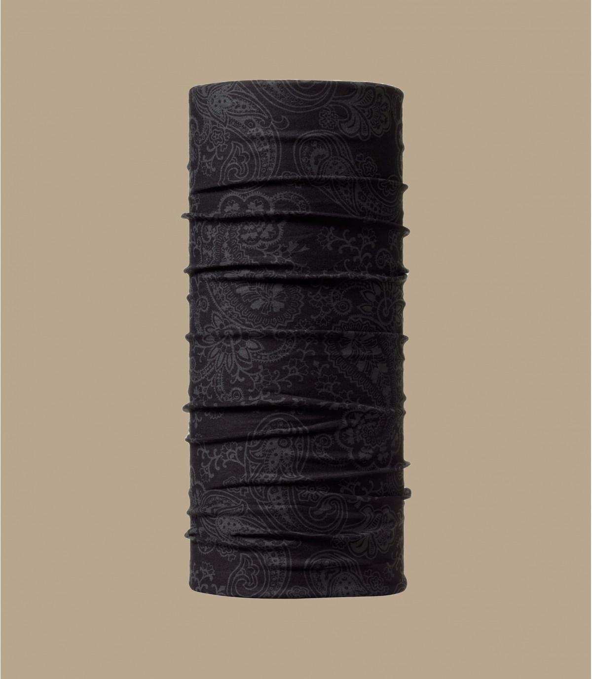 girocollo Buff modello nero