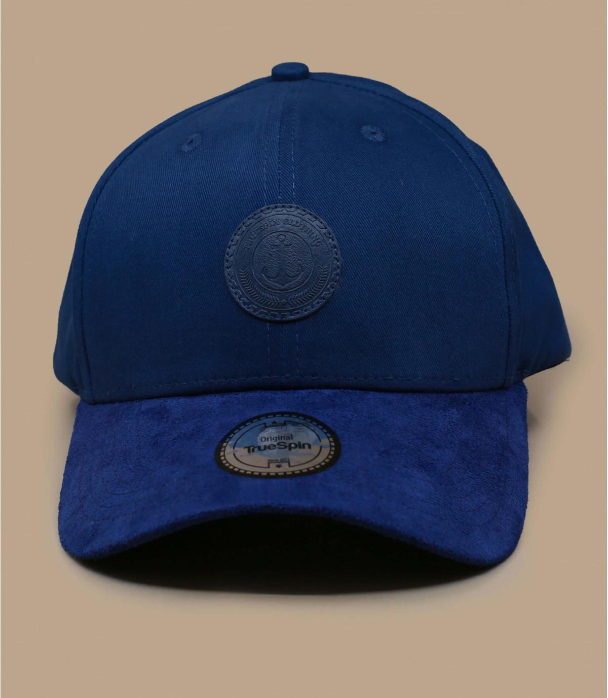tappo di ancoraggio blu