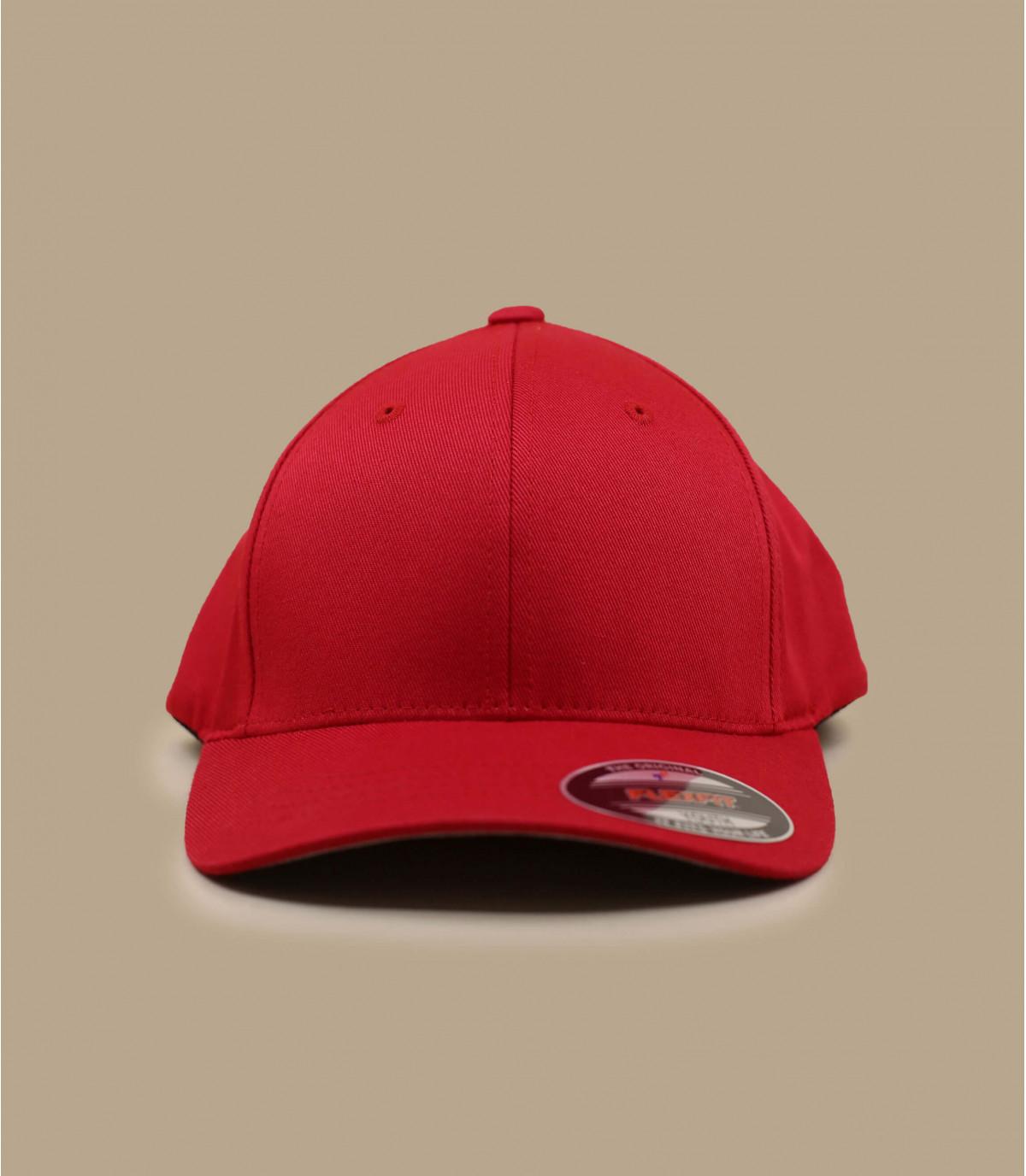 Cappellino rosso flexfit kids