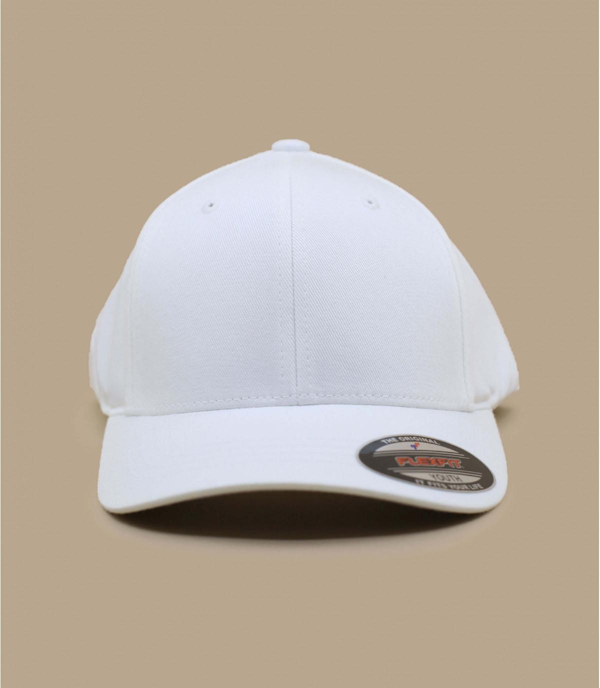 Cappellino biancohe flexfit kids