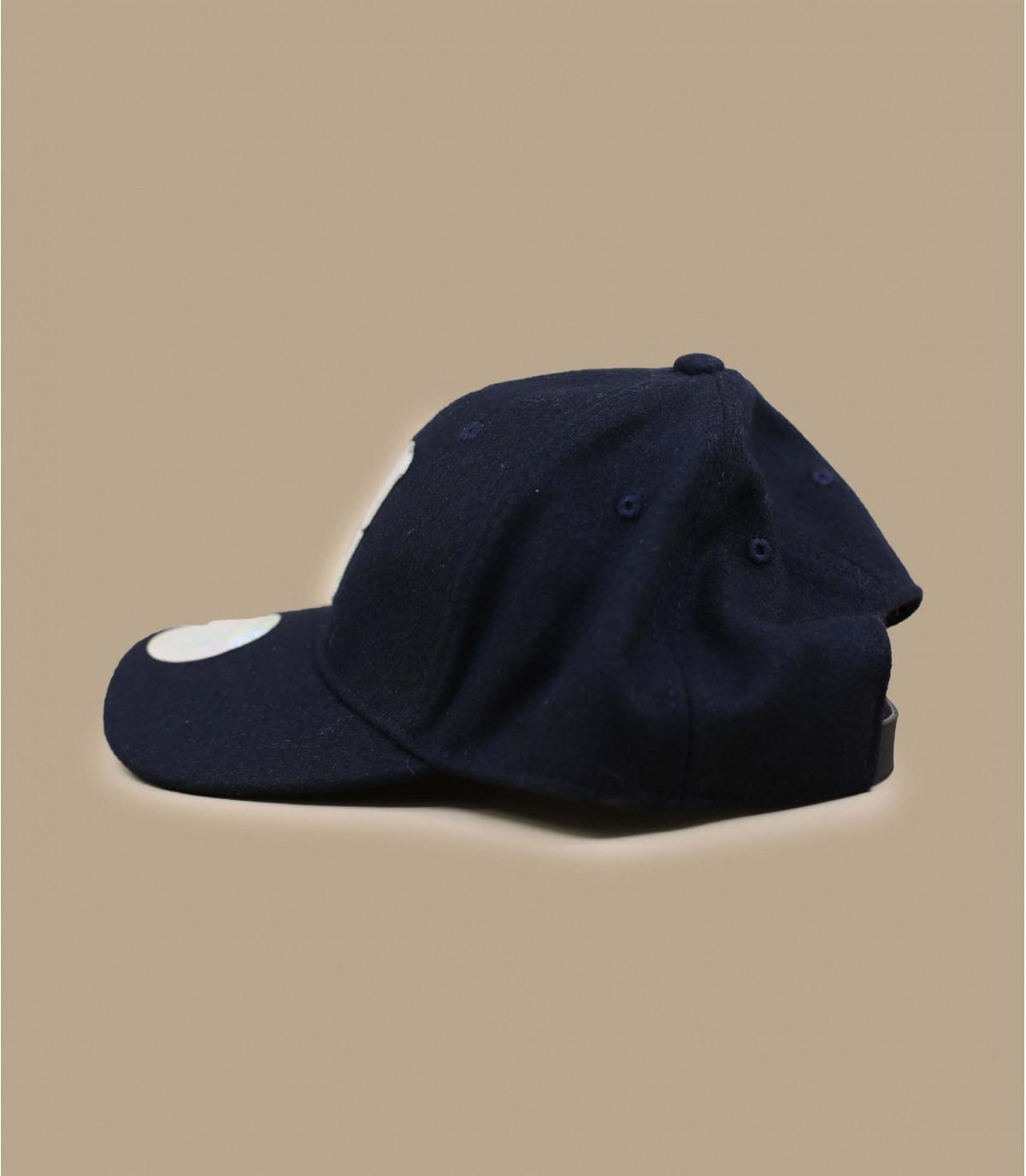 Cappellino trucker blu marine