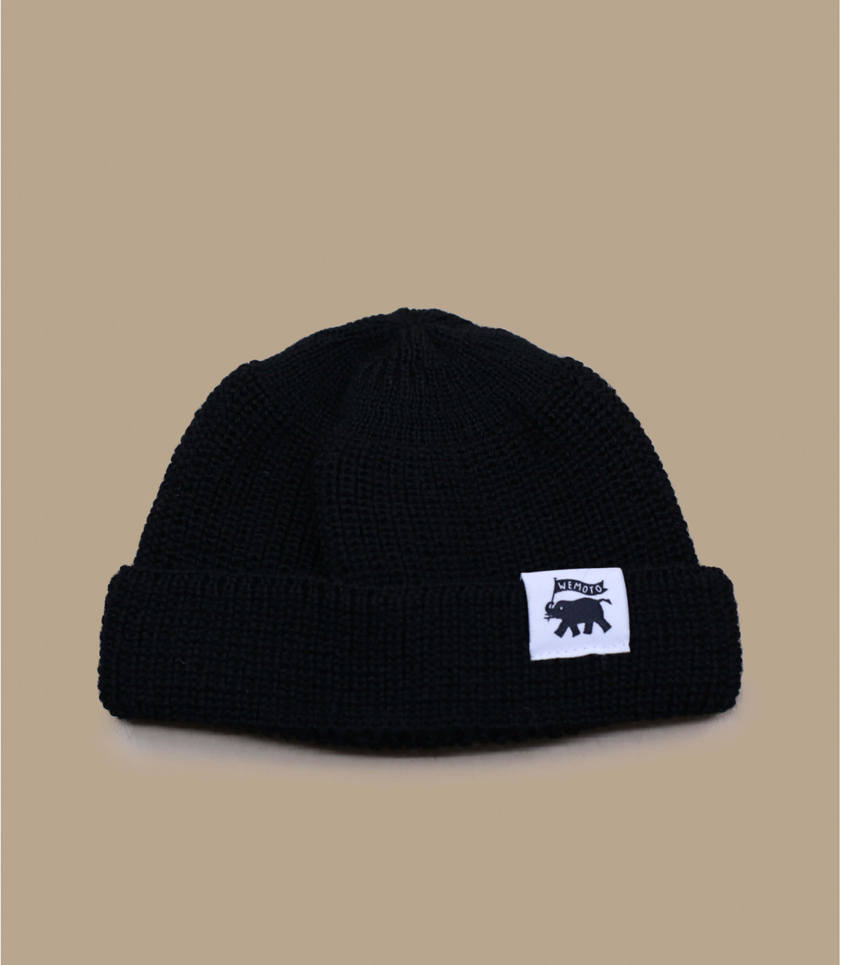 lana nera cappello finestra mobile