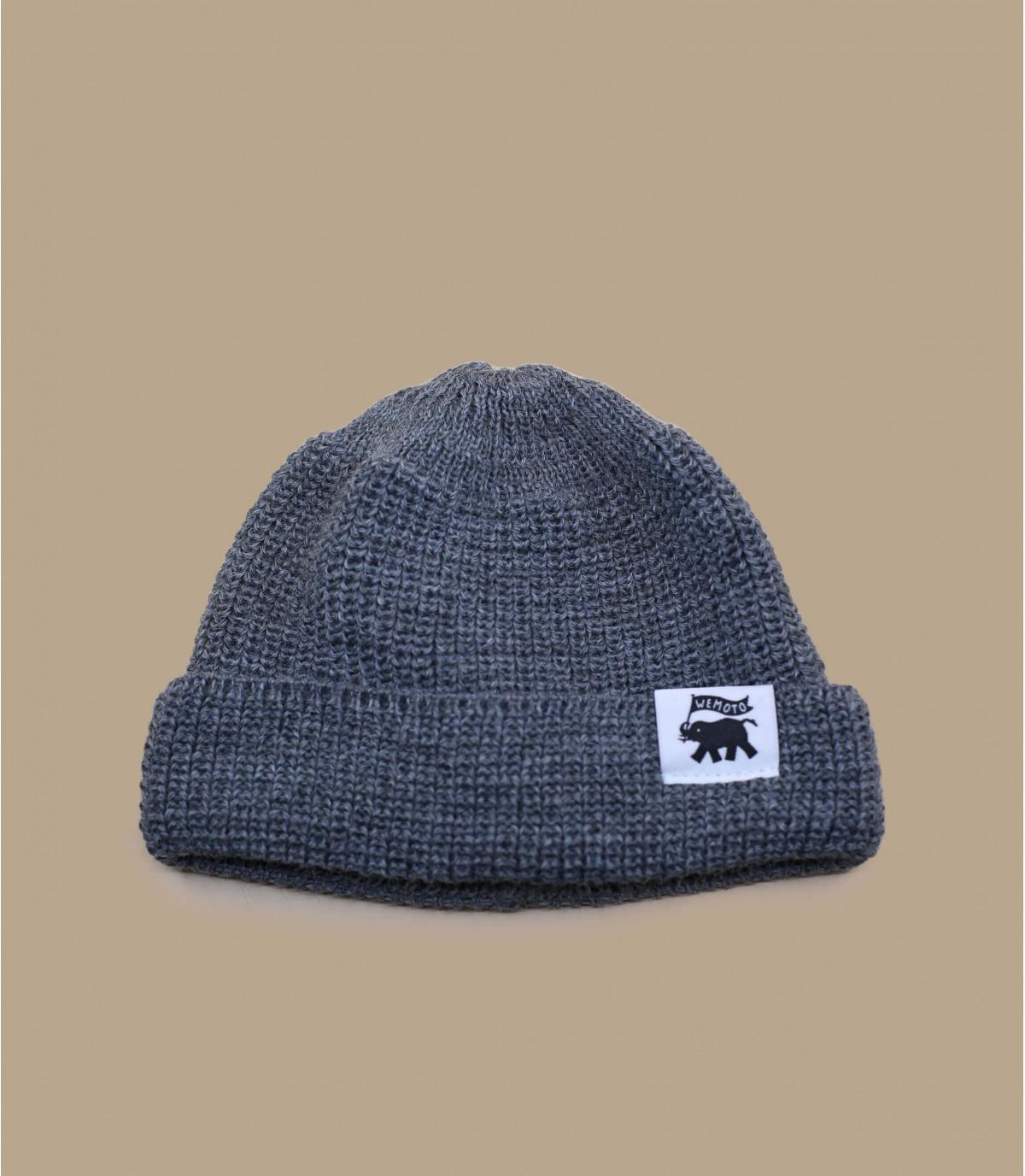 lana cappello grigio finestra mobile