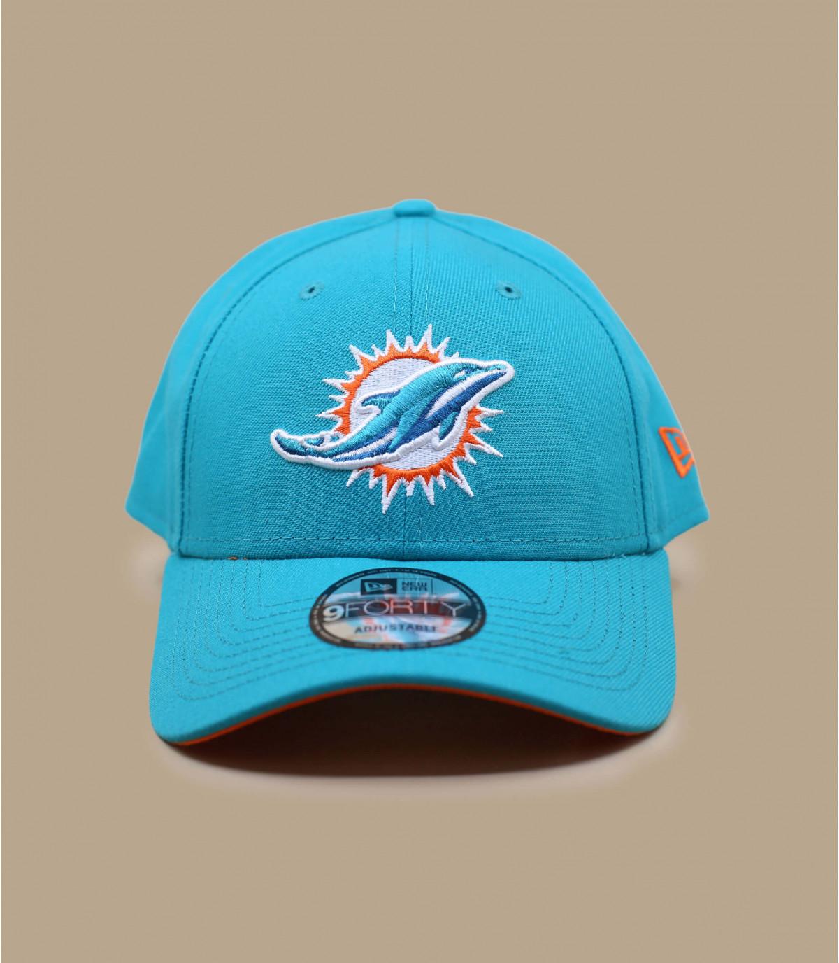 I delfini cap curva blu