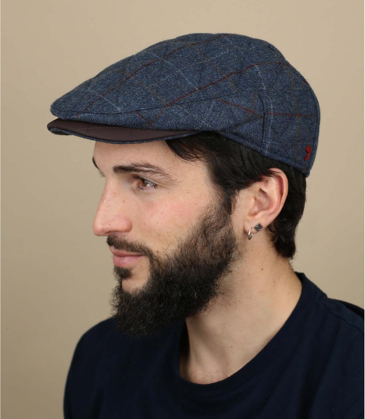 berretto grigio lana