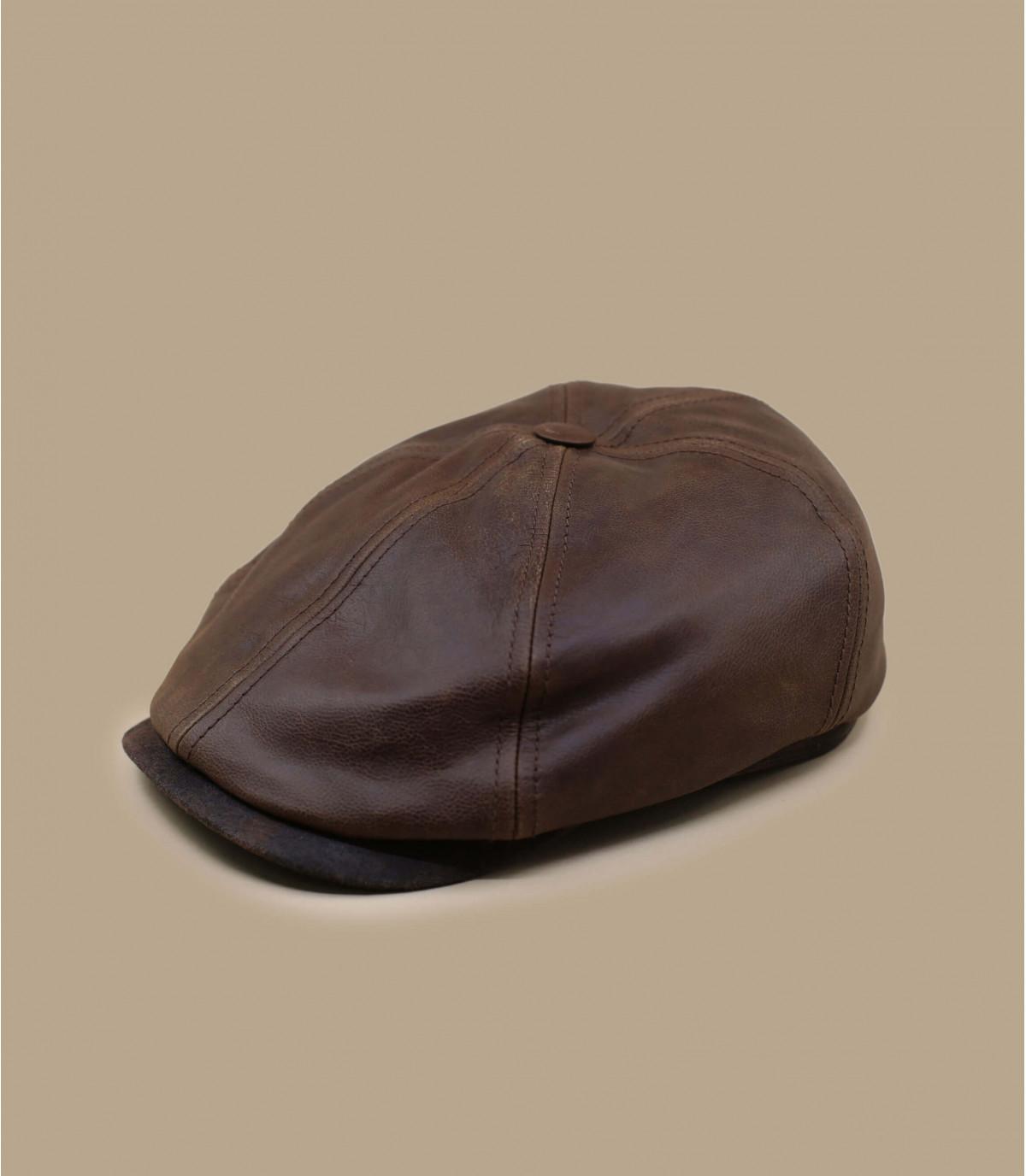 Cappellino irlandaise pelle