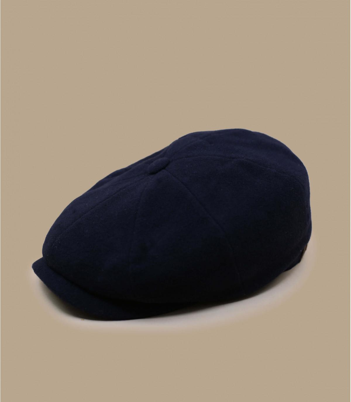 berretto strillone lana blu