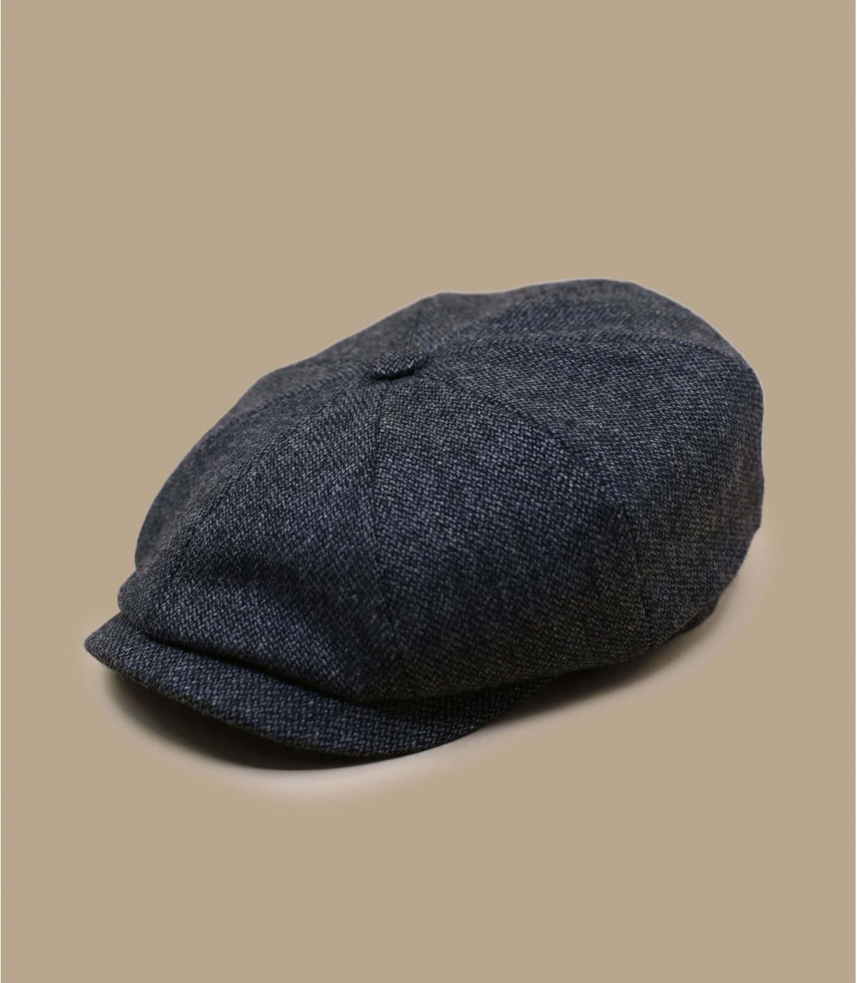 berretto strillone lana grigia