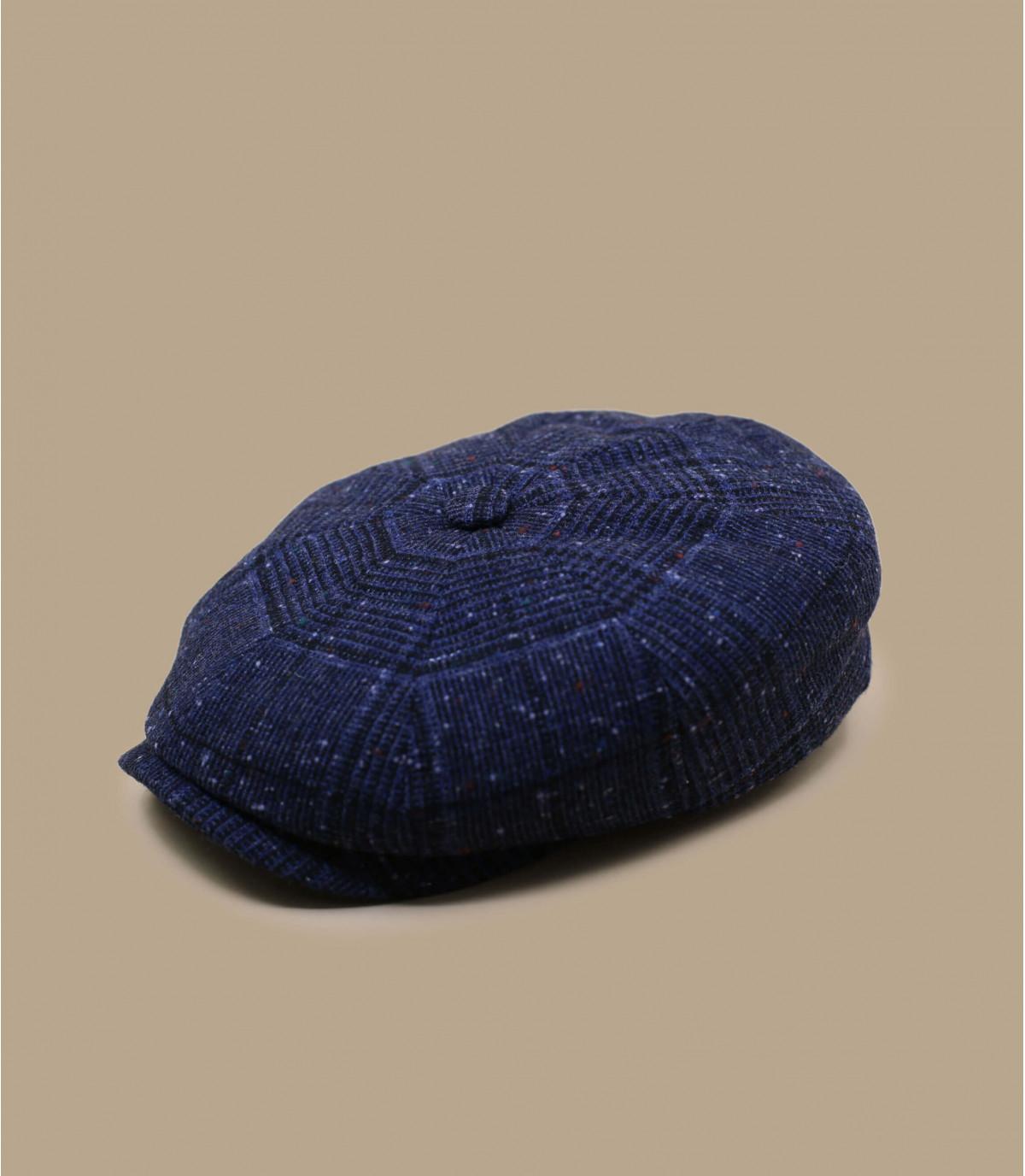 piastrella blu del cappuccio dello strillone