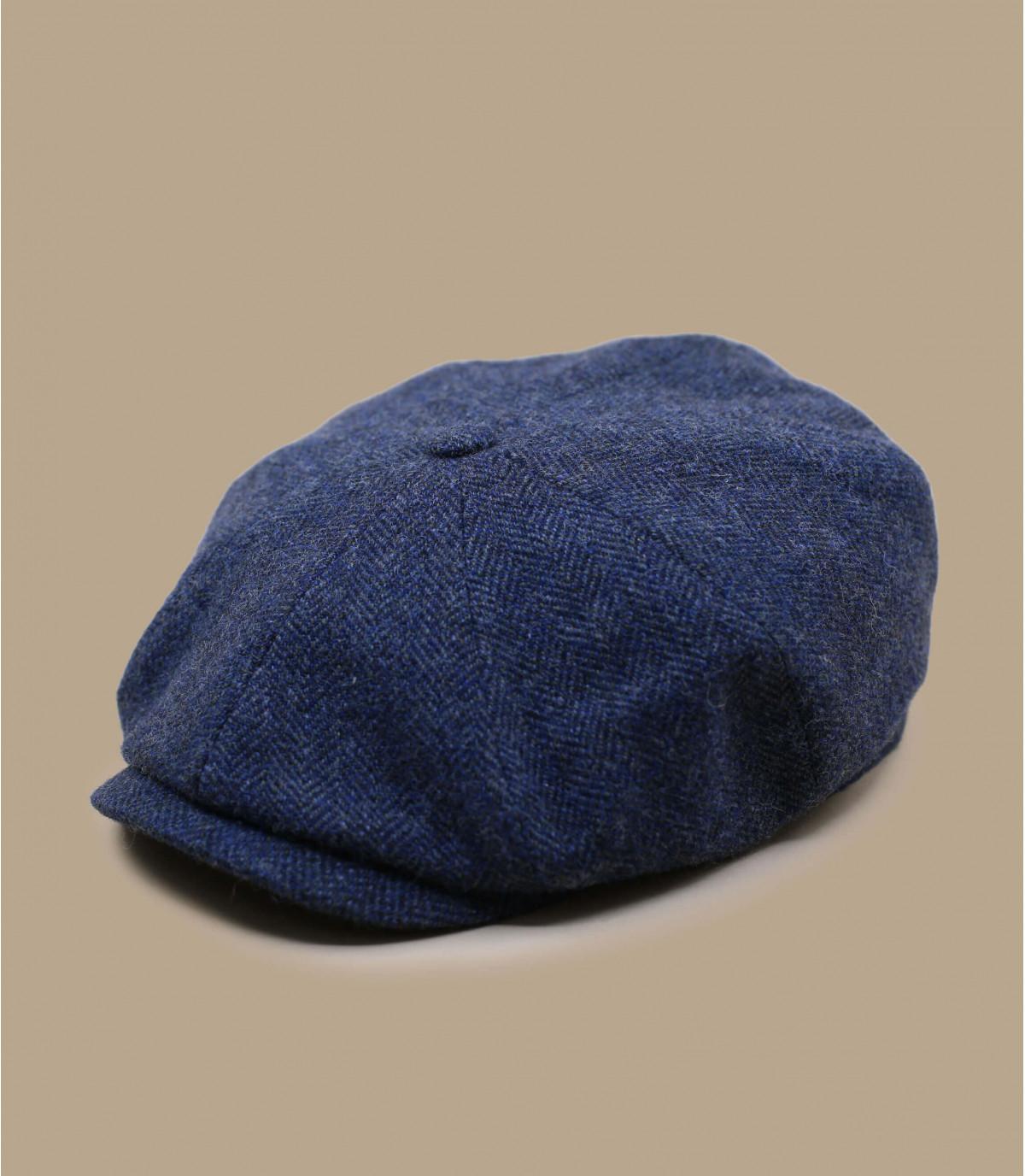 berretto strillone di lana blu