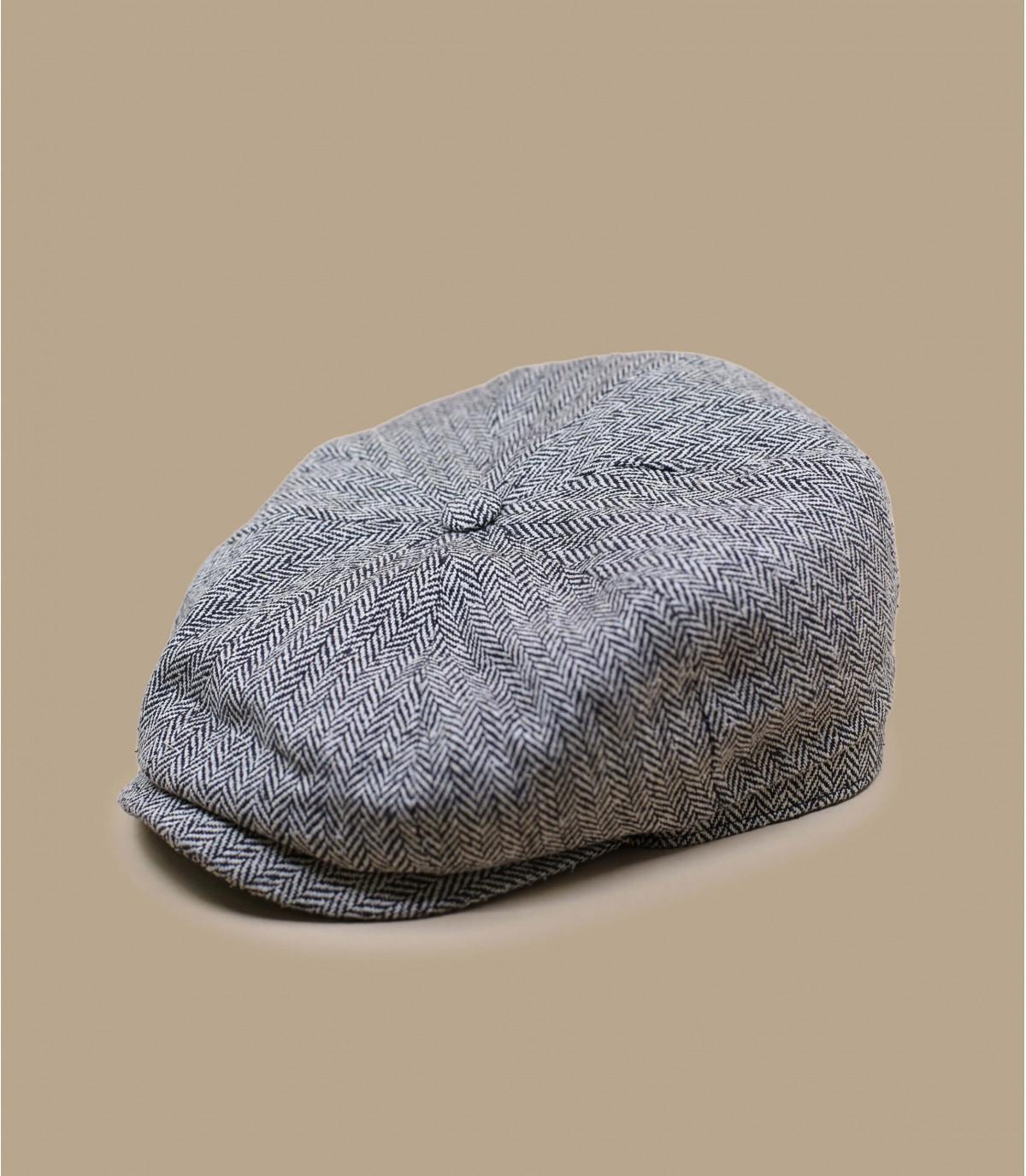 berretto di seta nera Stetson