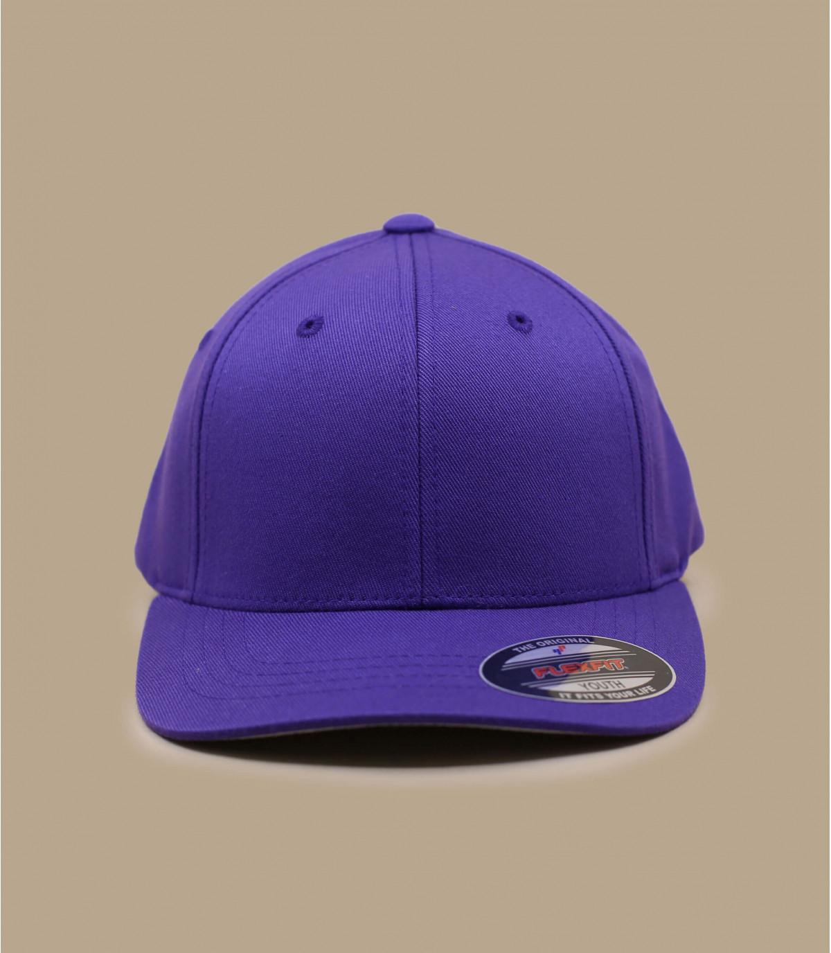 Cappellino violette flexfit kids