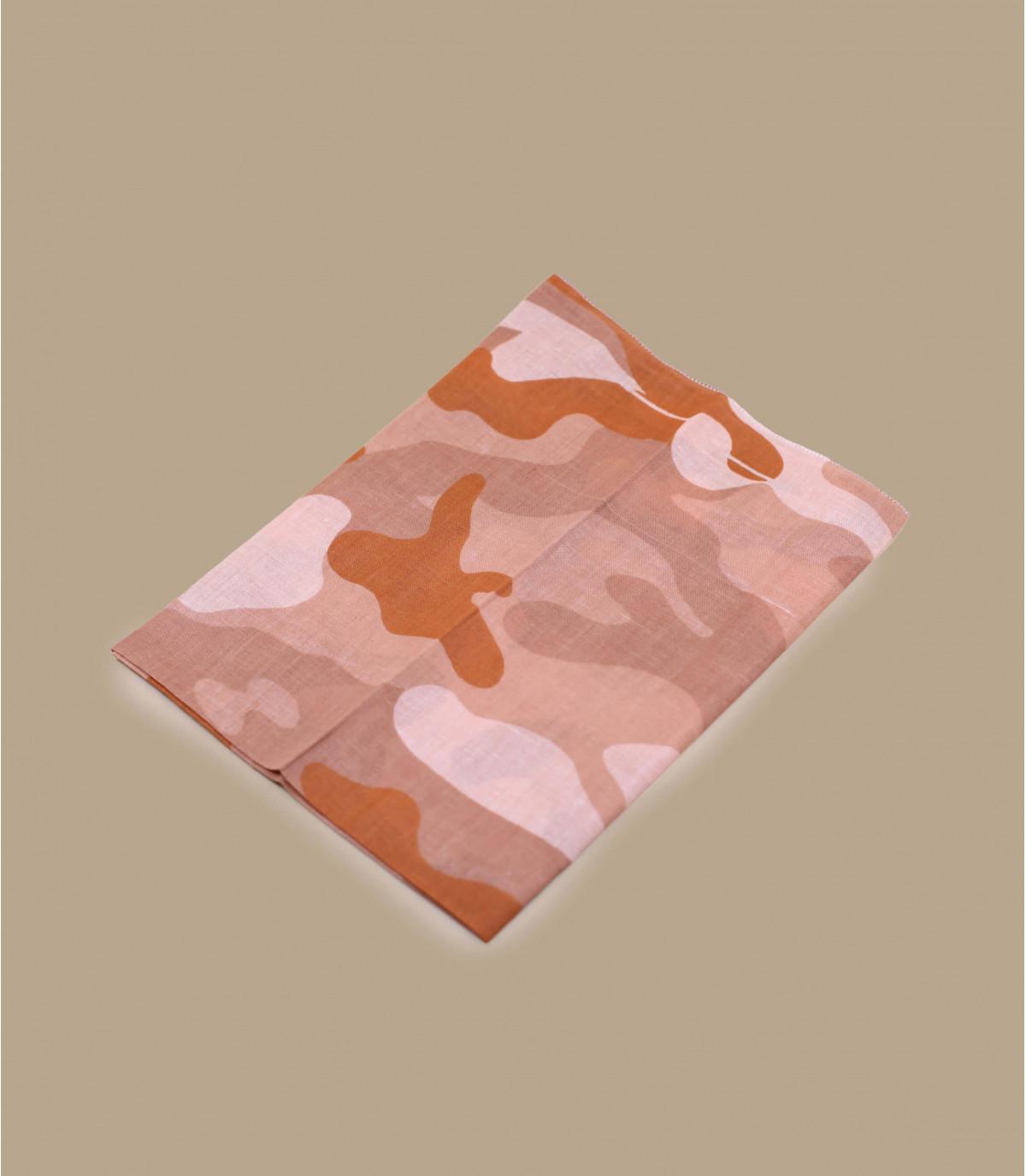 bandana camo rosa