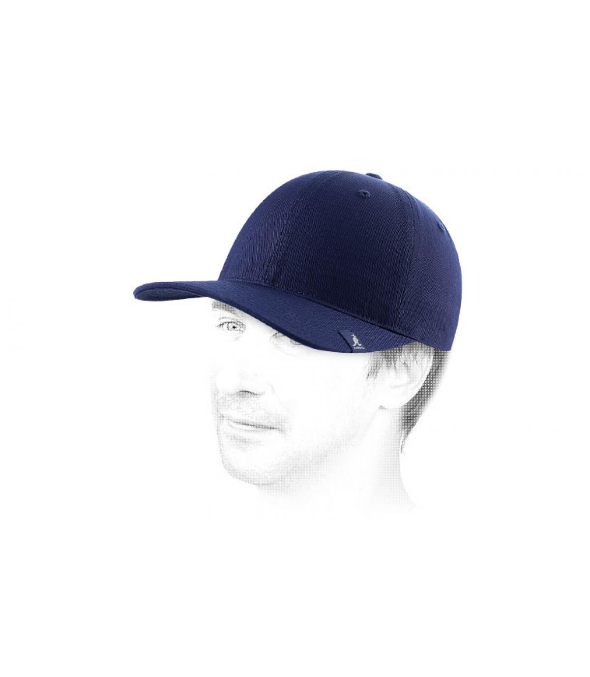 Cappellino baseball blu marine