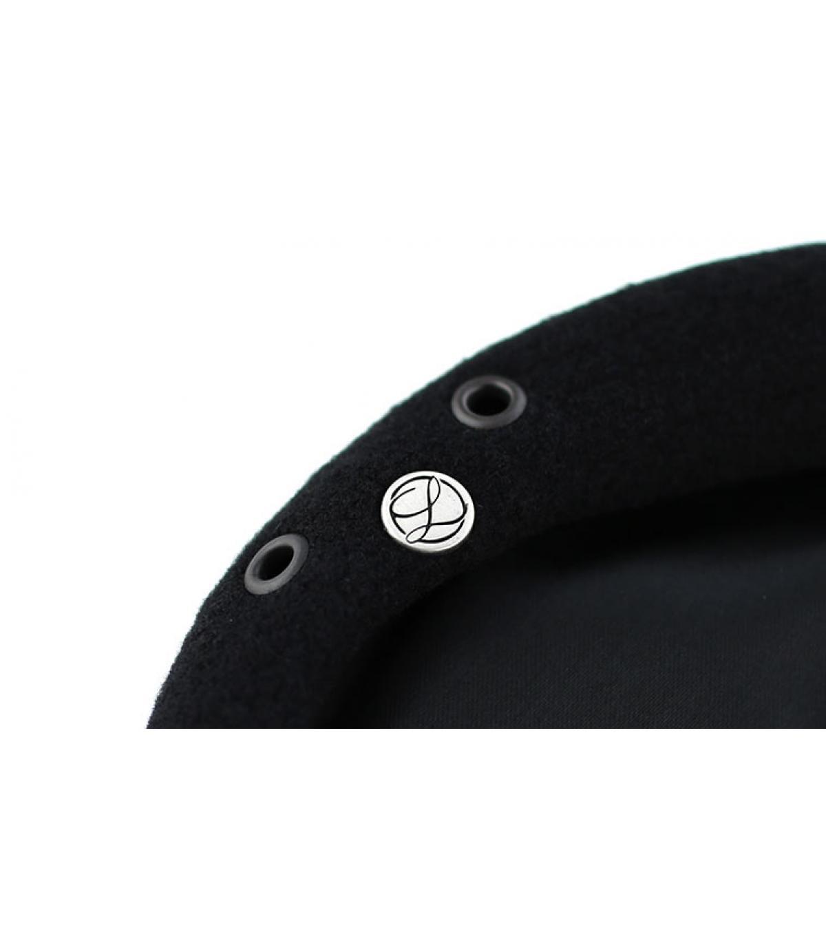 Dettagli Berretto commando nero nero - image 3