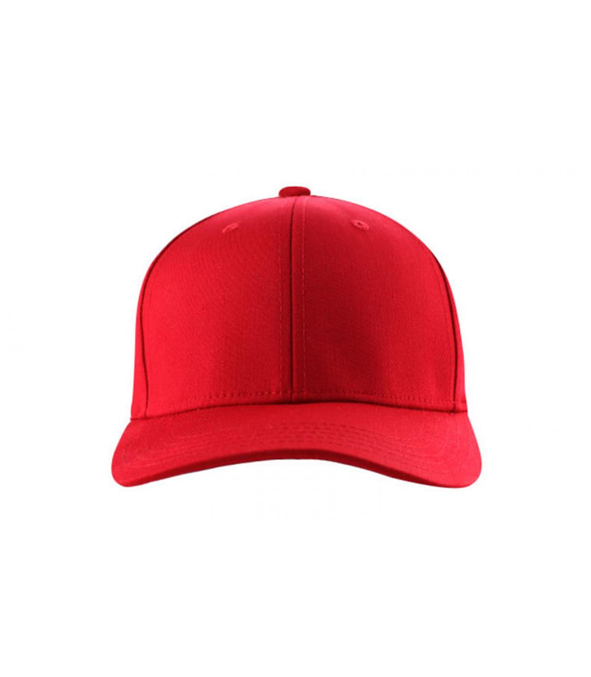 Curve blank red