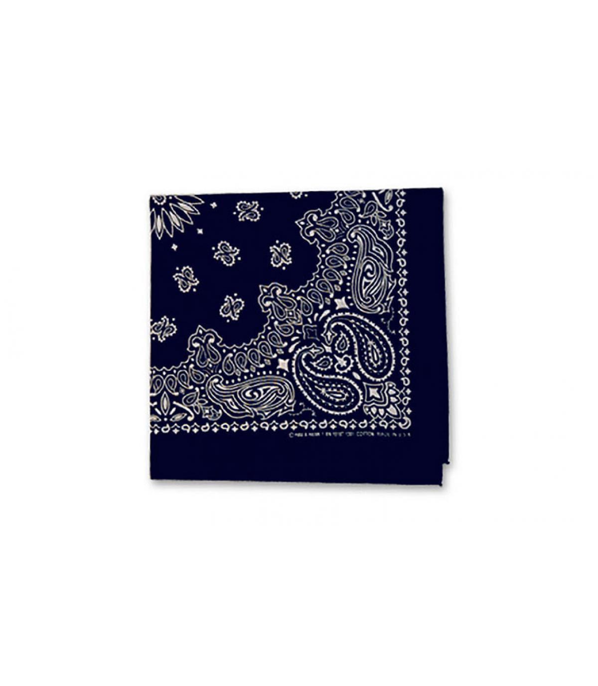 bandana blu navy