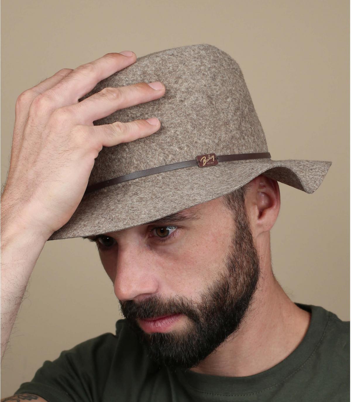 cappello flessibili uomini tesa