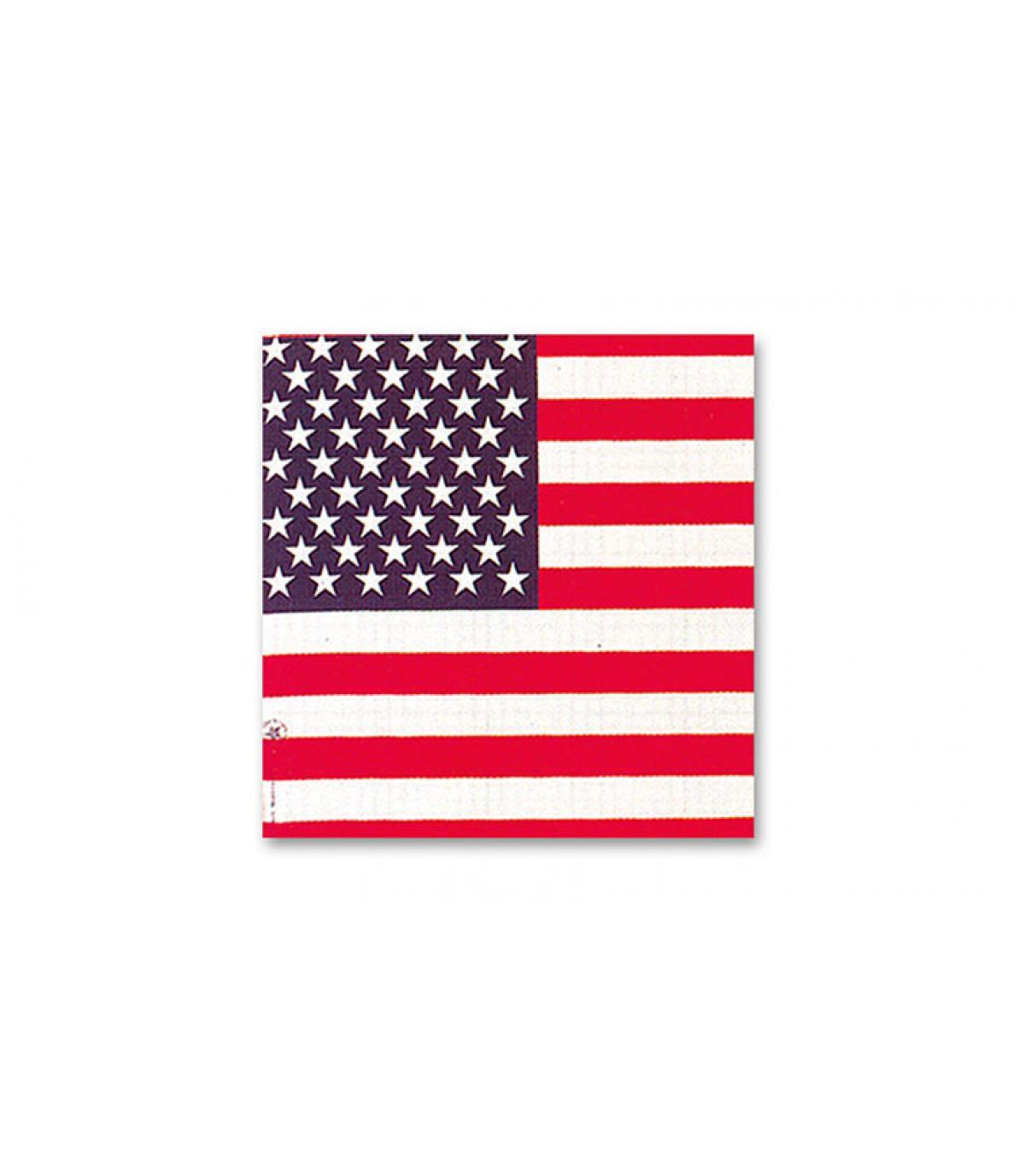 Bandana bandiera americana