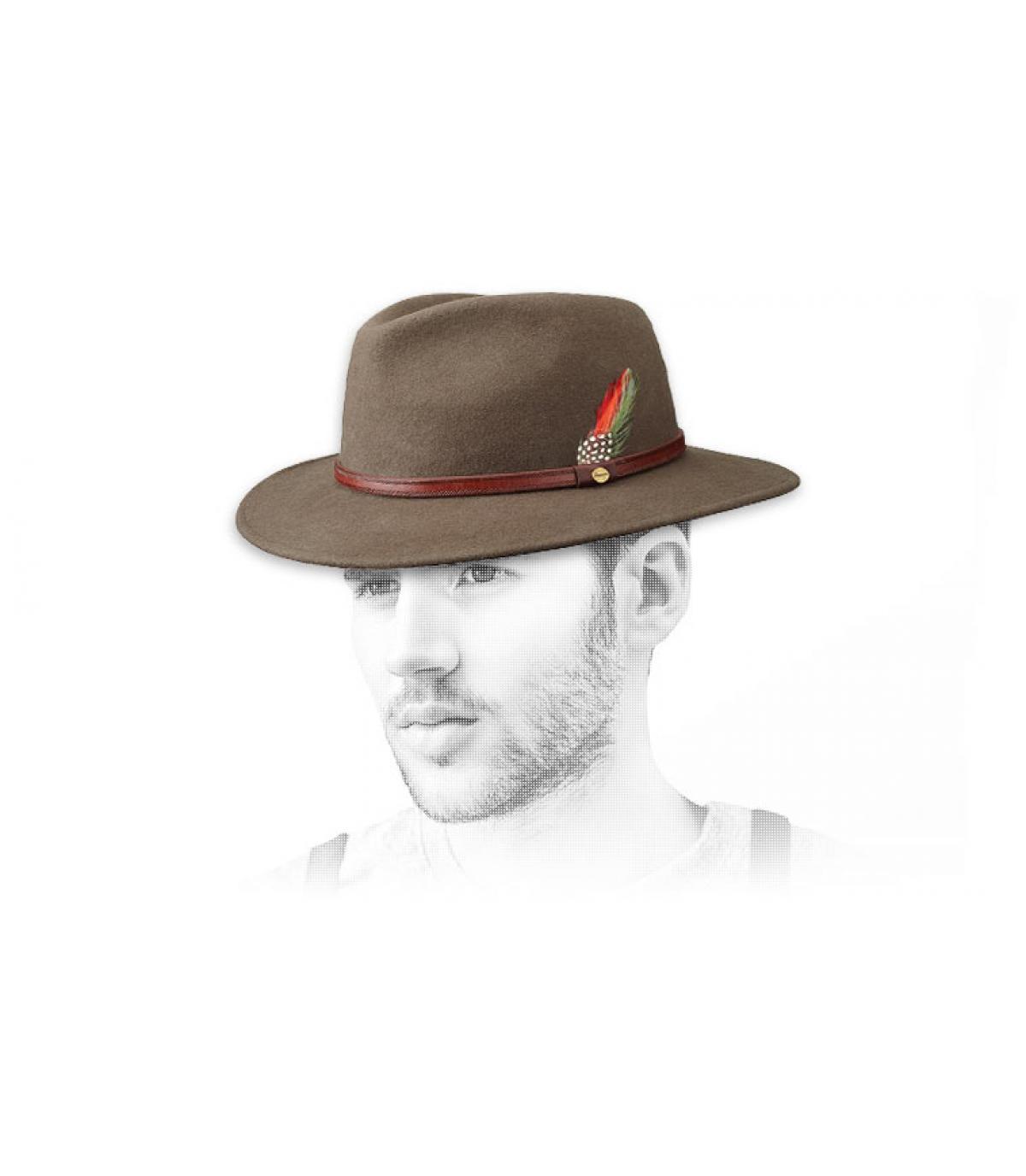 Cappello Atlanta beige Stetson
