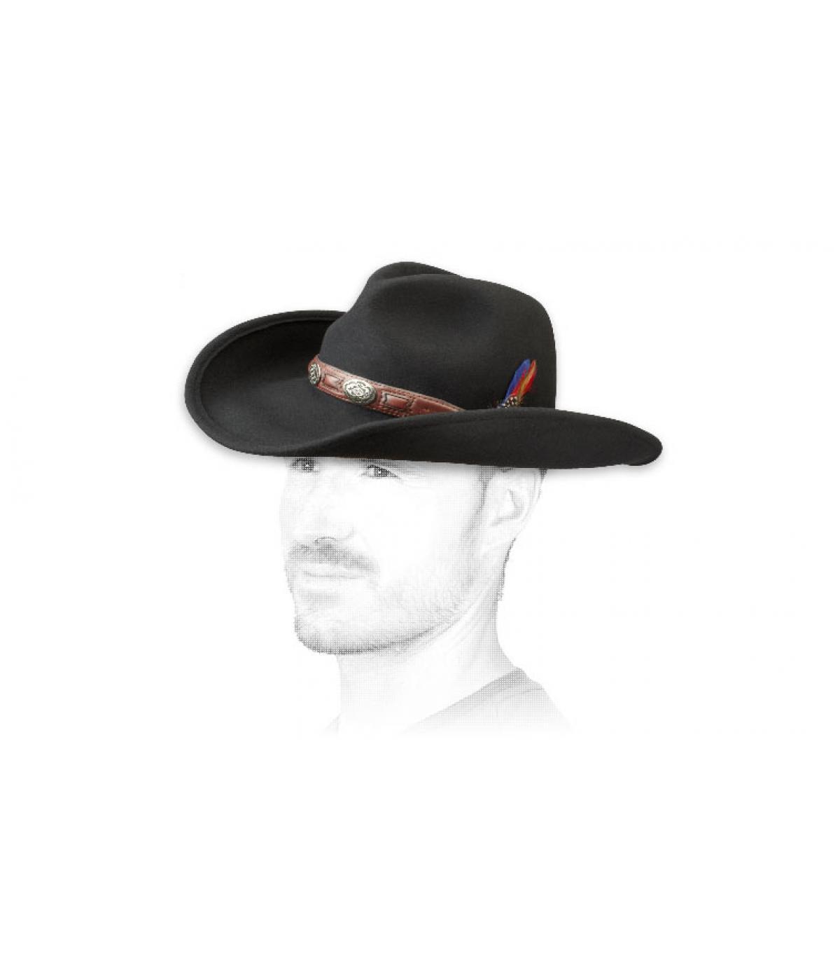 cappello da cowboy stetson