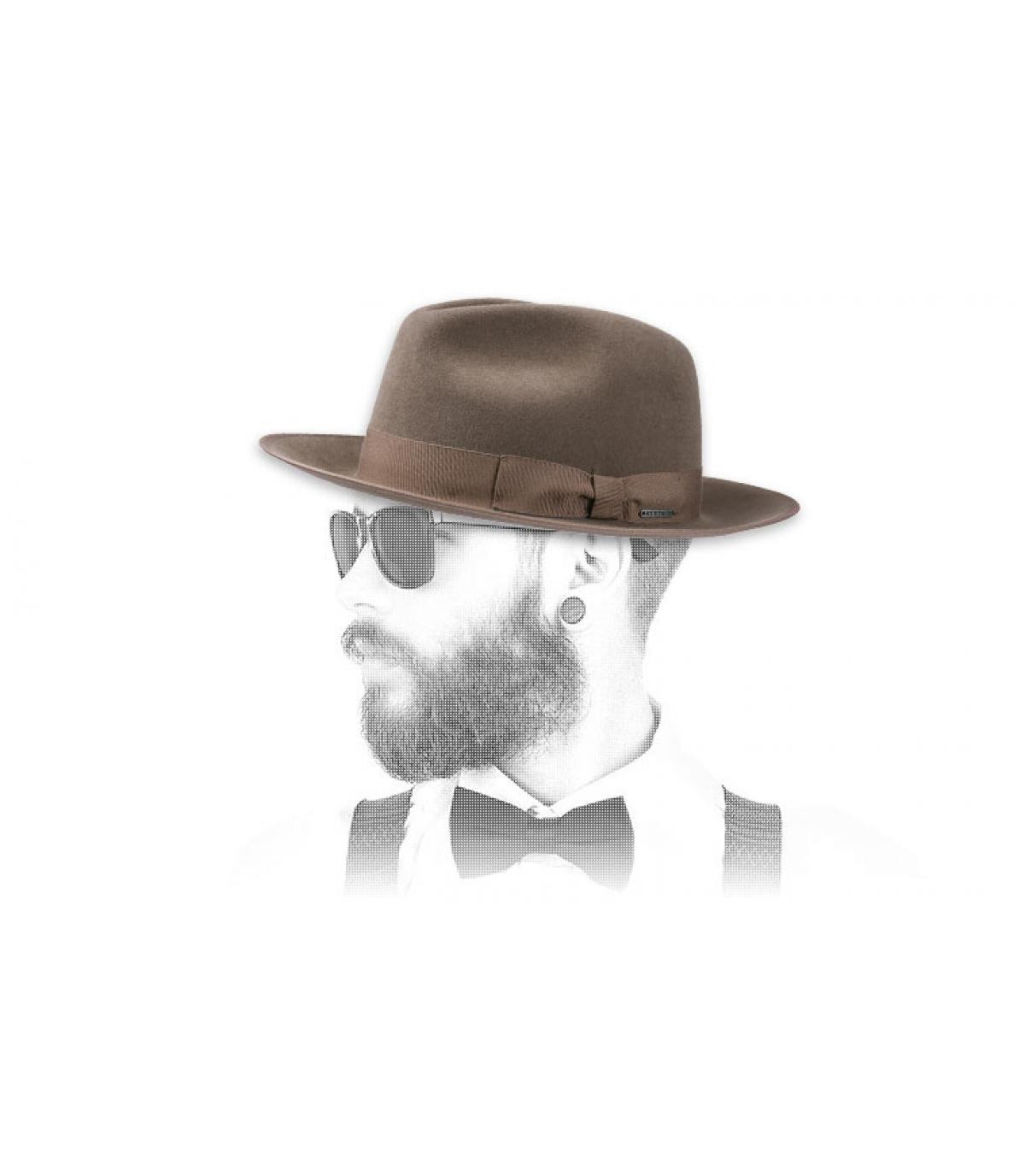 Pelliccia cappello di feltro Stetson