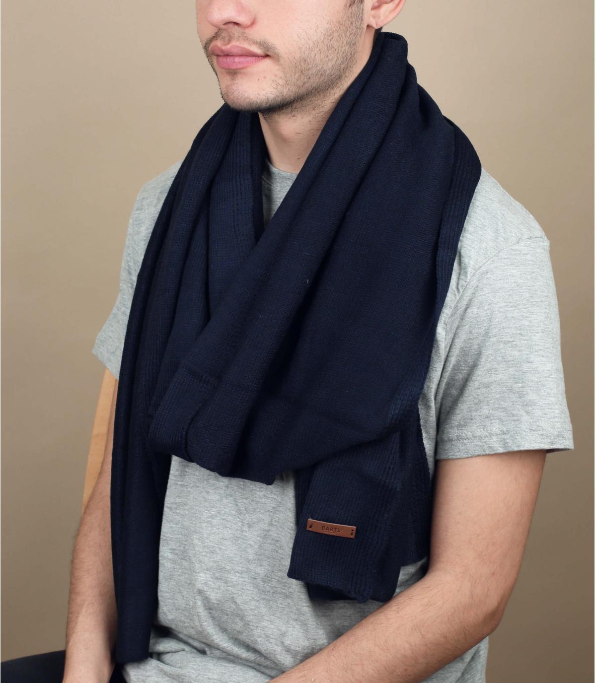 sciarpa blu Plain