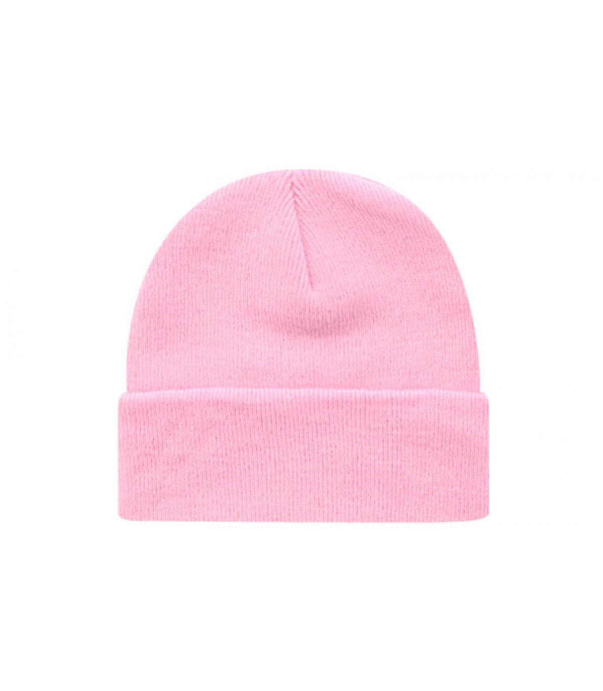 Beanie blank pink
