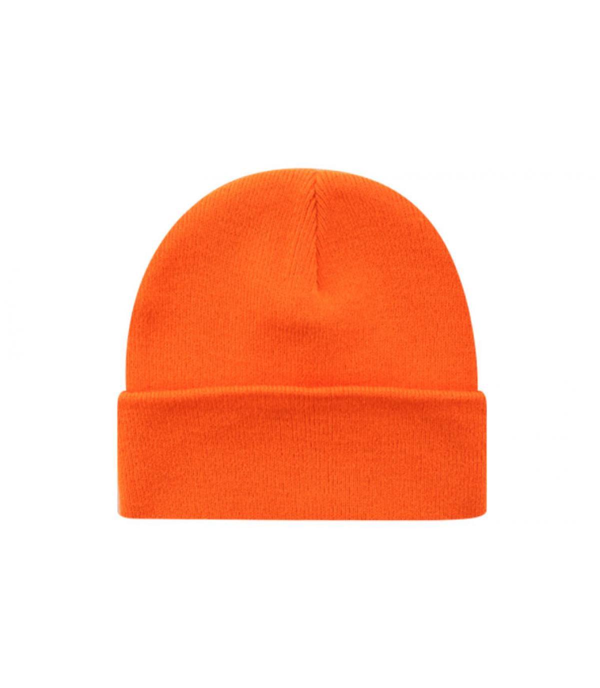 Beanie blank orange