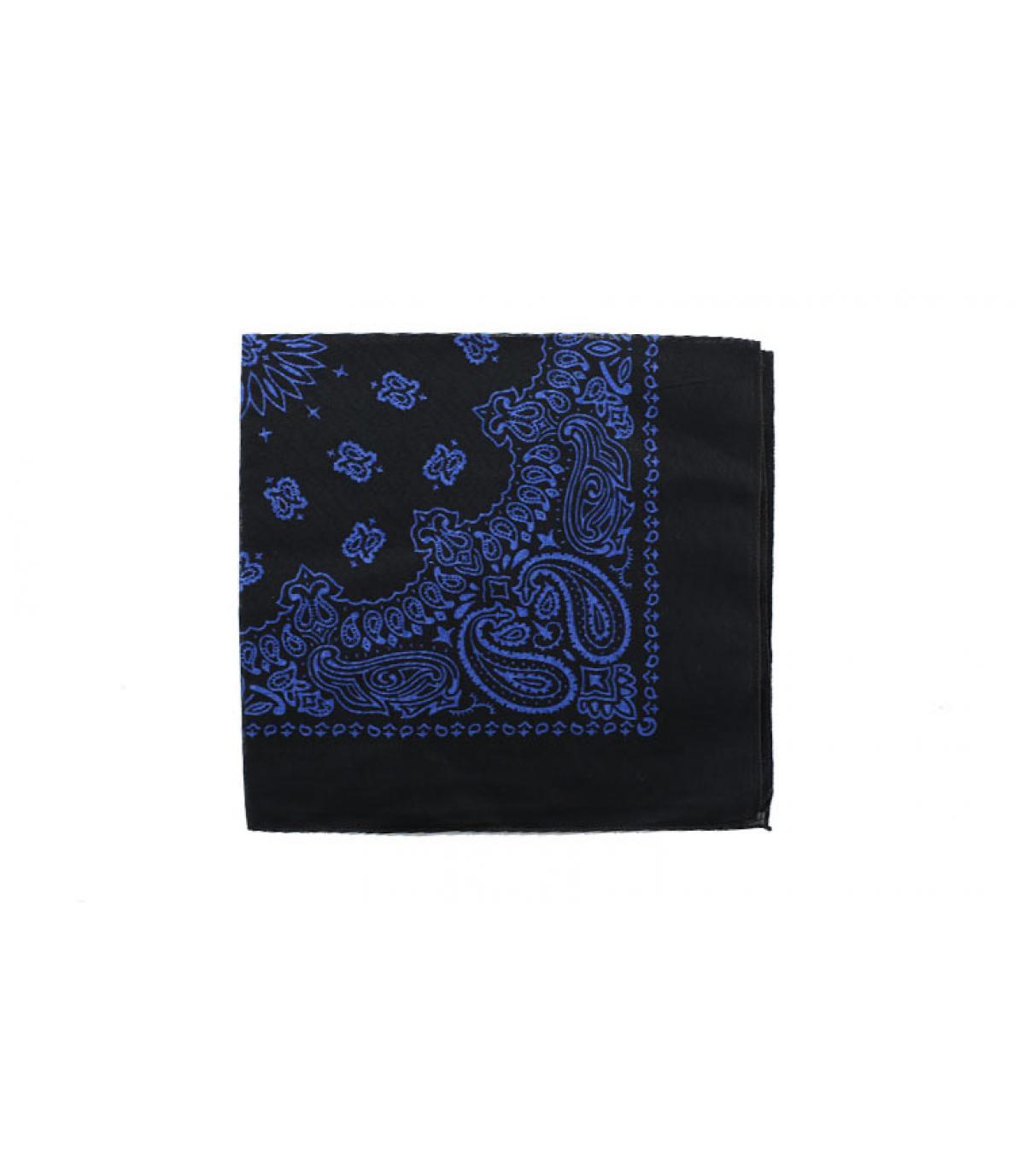 bandana blu scuro