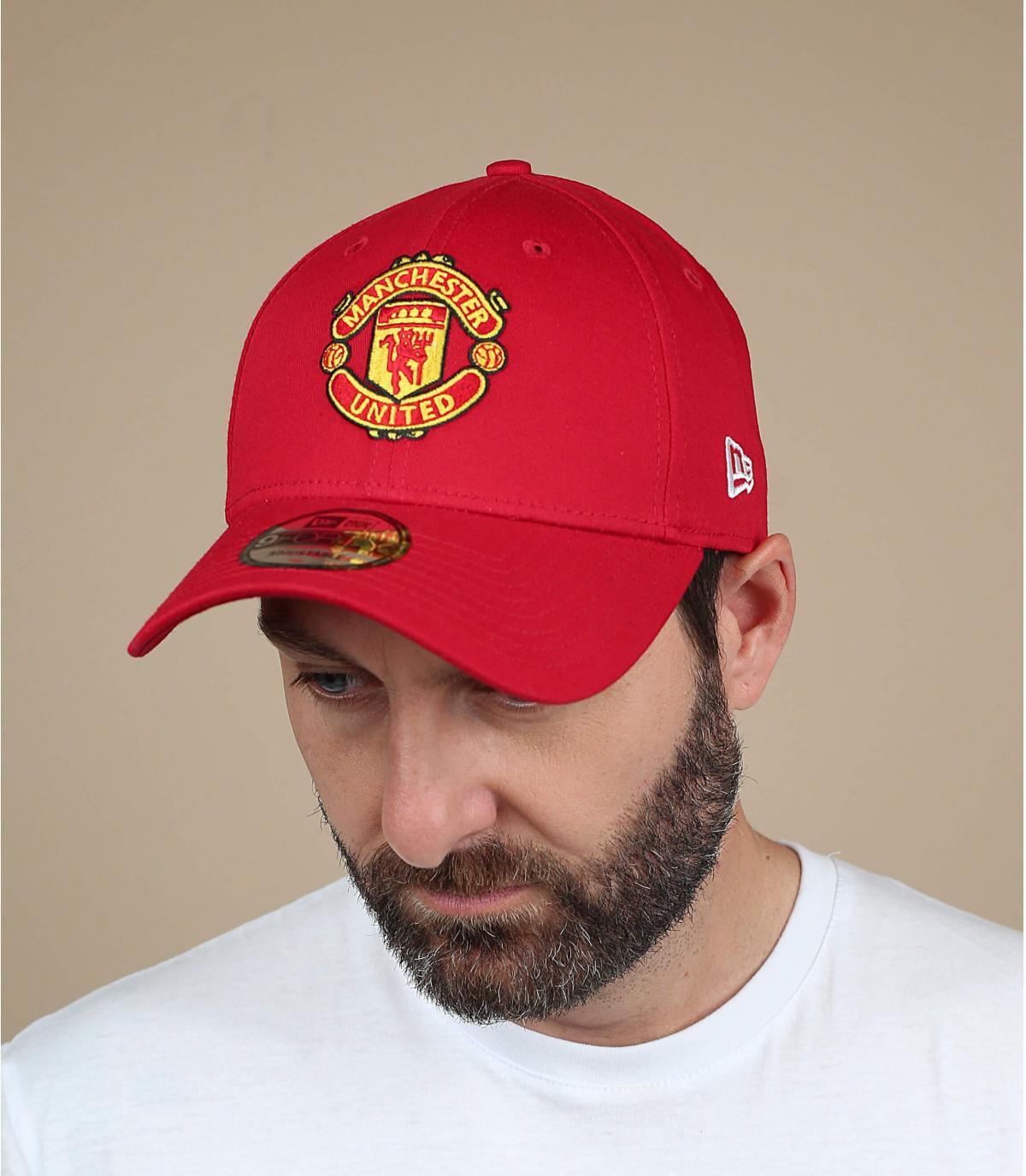 Cap rosso Manchester United