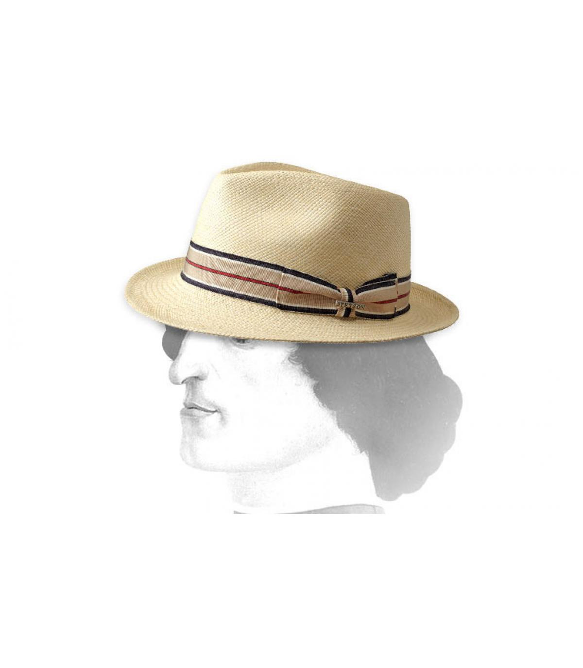 Cappello paglia stetson