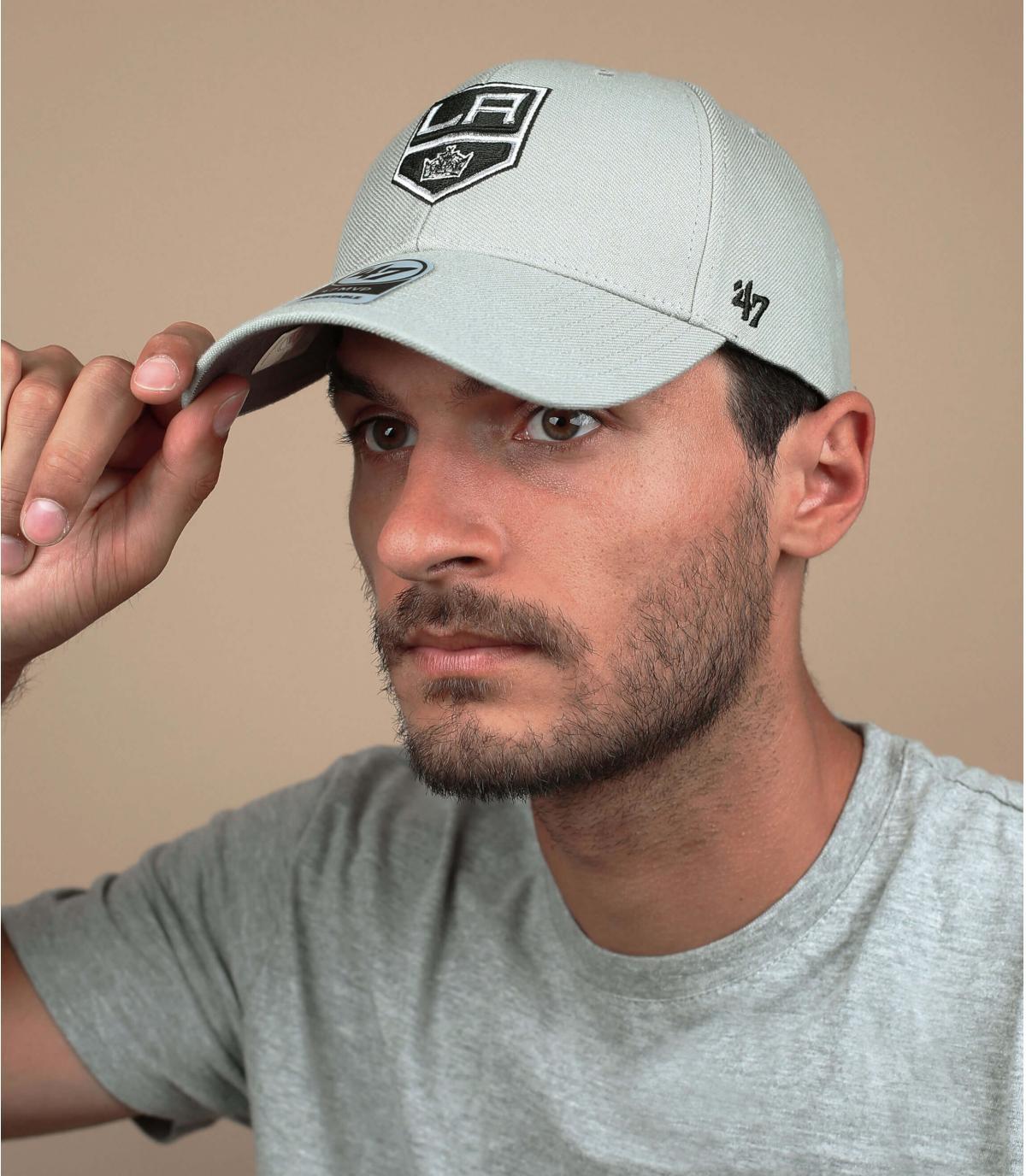 LA Kings cappello grigio