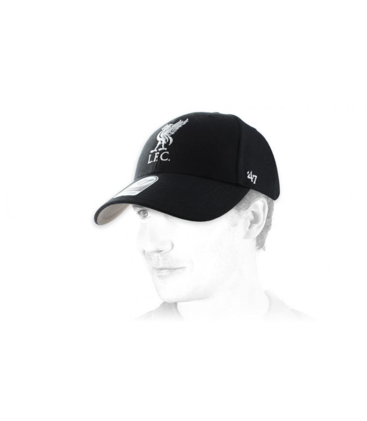 berretto nero Liverpool