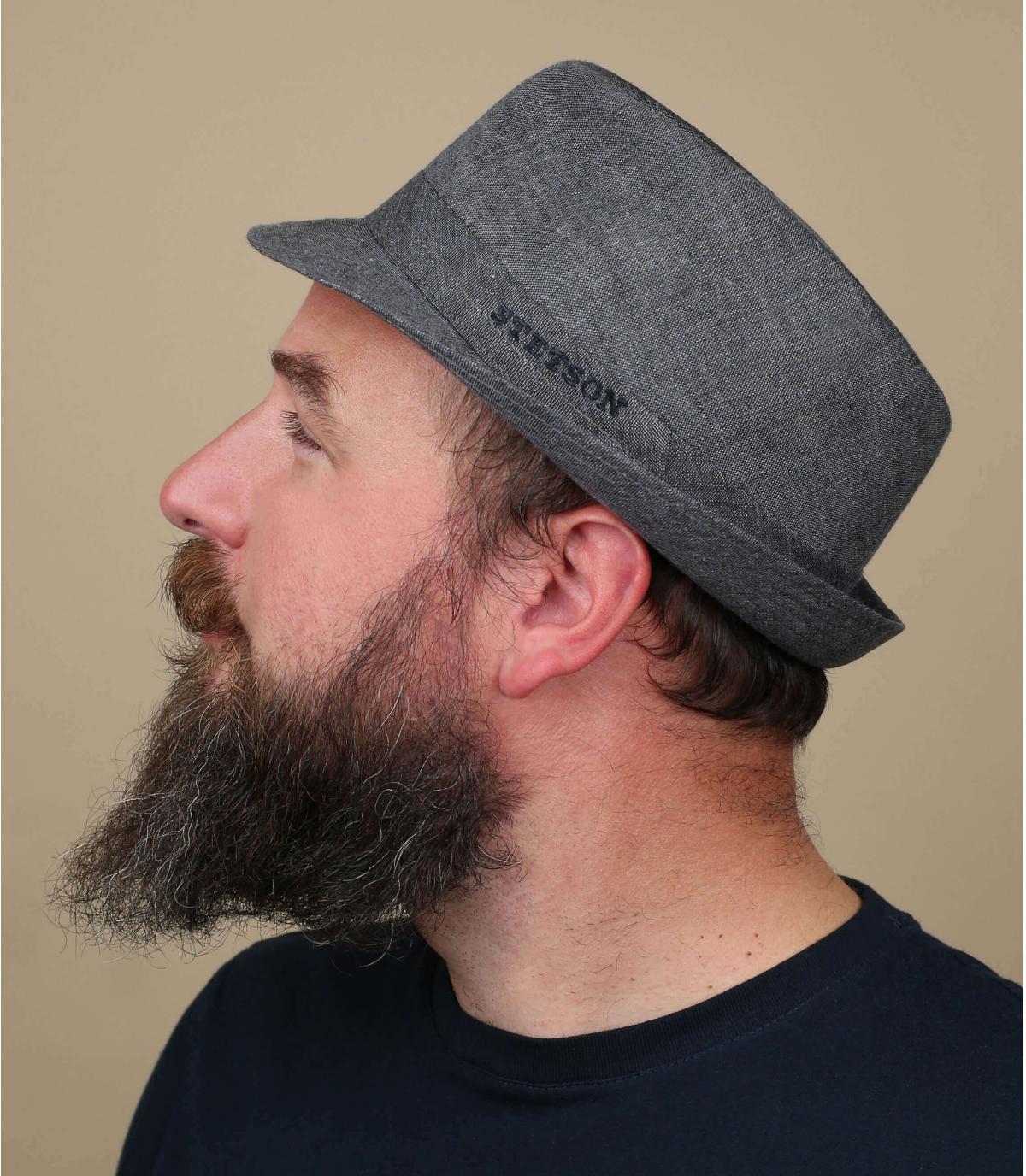 Stetson Trilby lino grigio