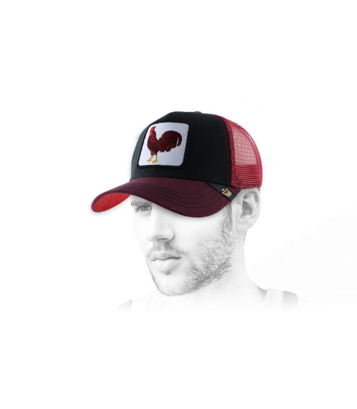 Cappello Gallo Rosso