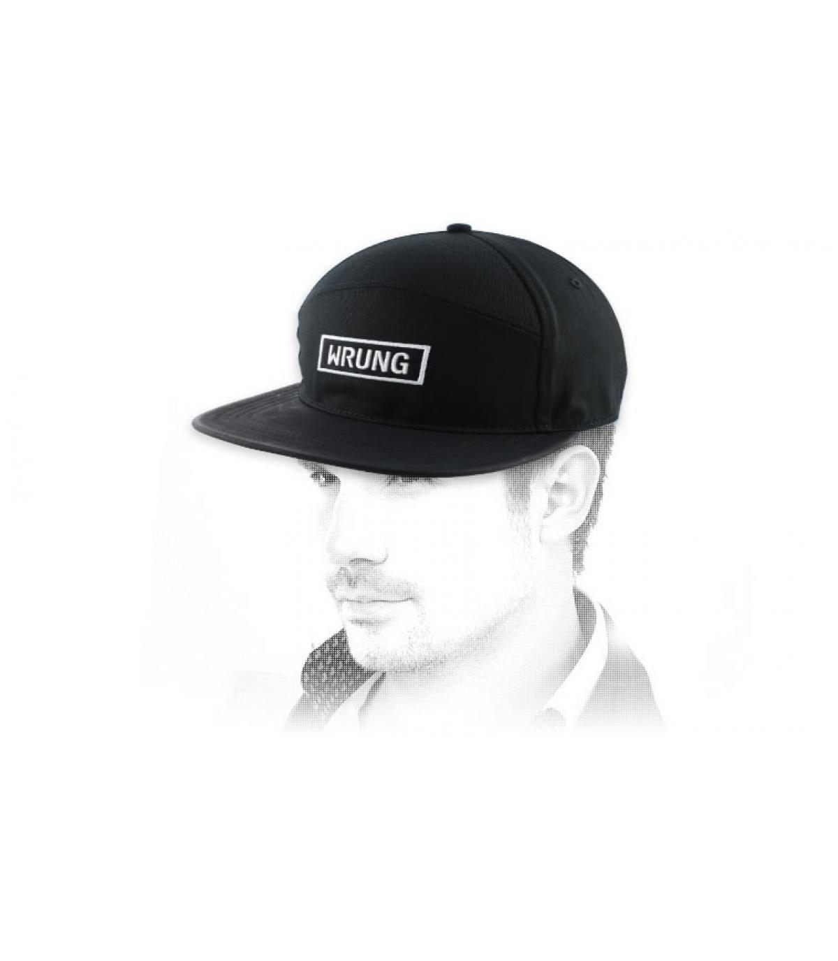 cappello logo rettangolo Wrung