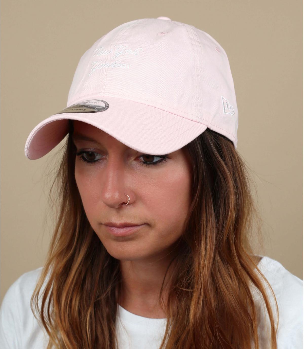 pallido cap rosa Yankees