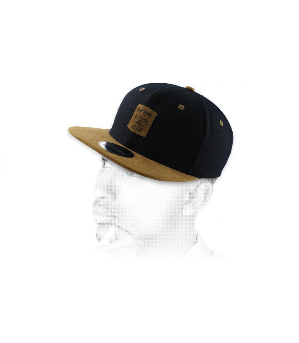 marrone nero snapback Chifoumi