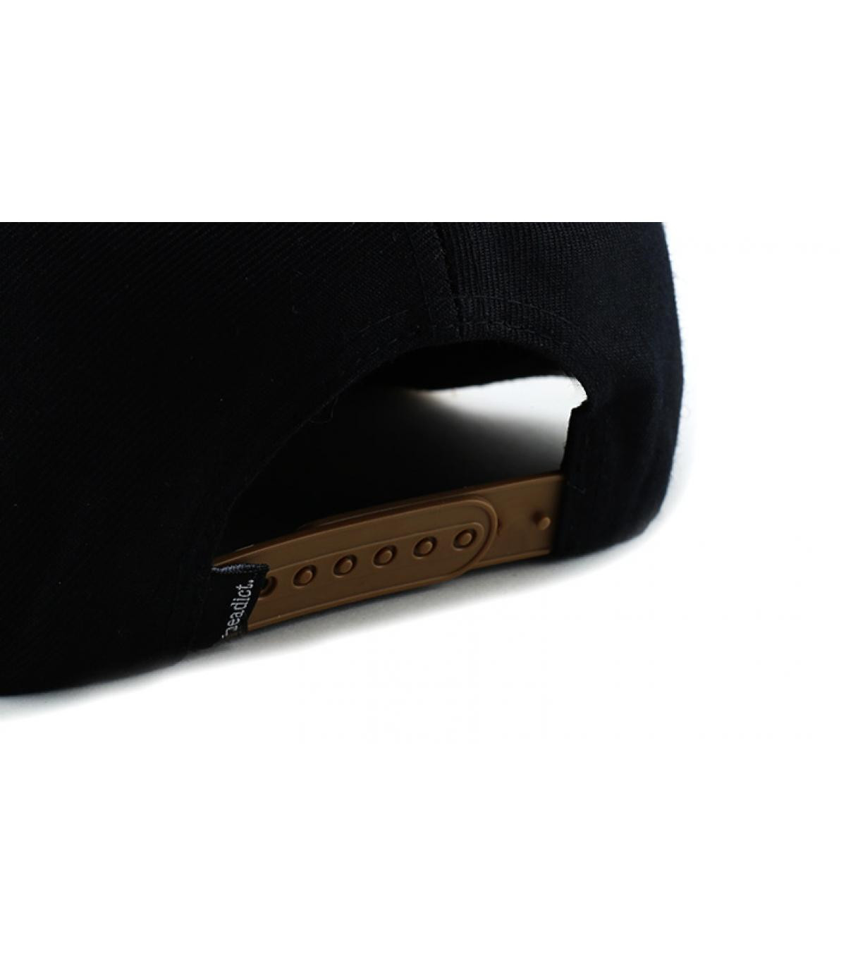 Dettagli Snapback Pillow Line black brown - image 5