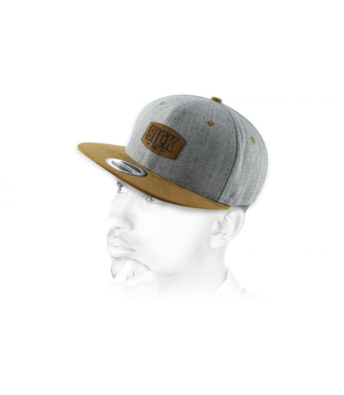 snpaback Sick marrone grigio