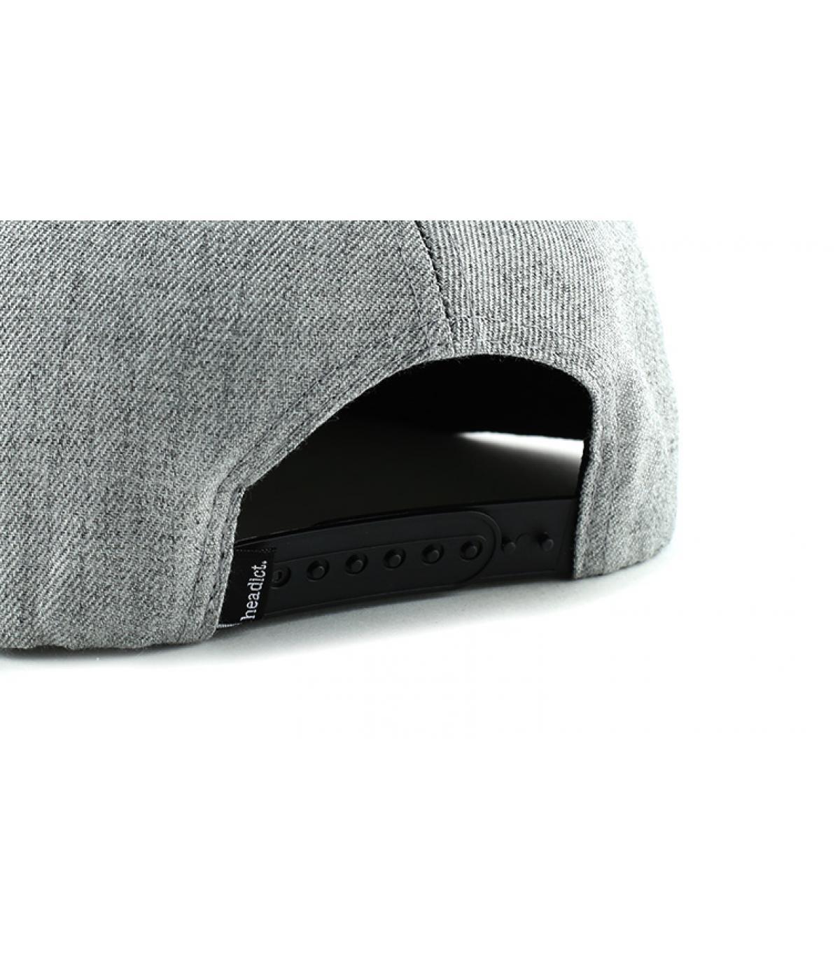 Dettagli Snapback Beer Pong grey black - image 5