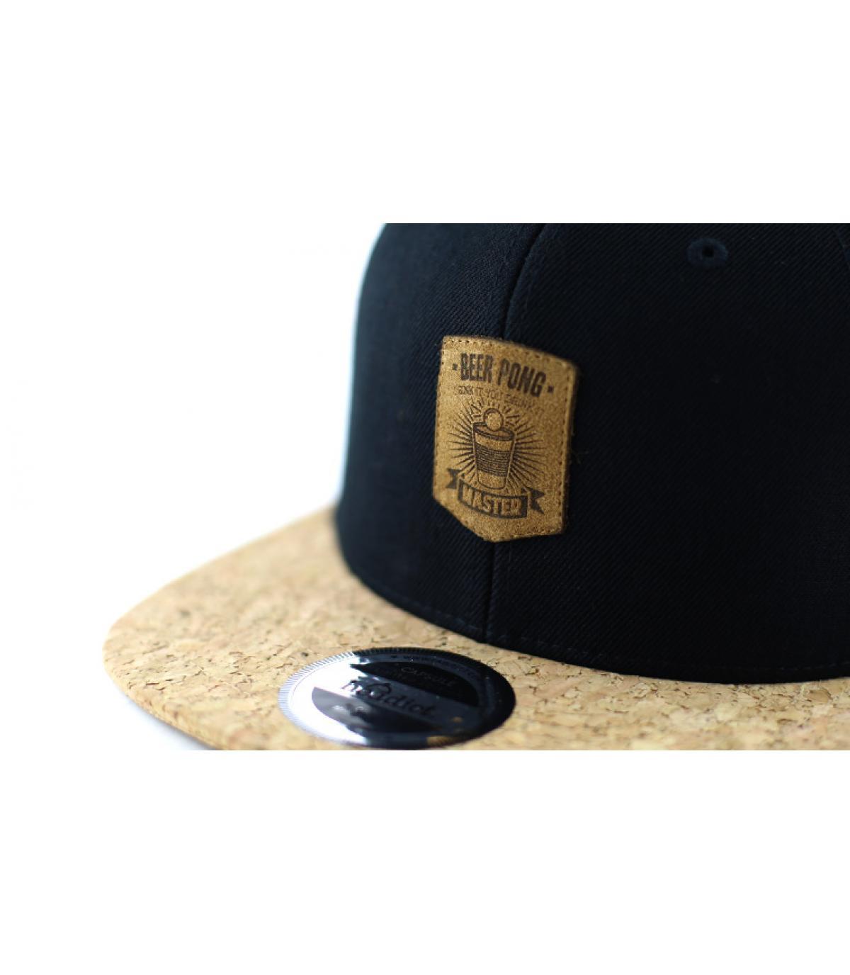 Dettagli Snapback Beer Pong black cork - image 3
