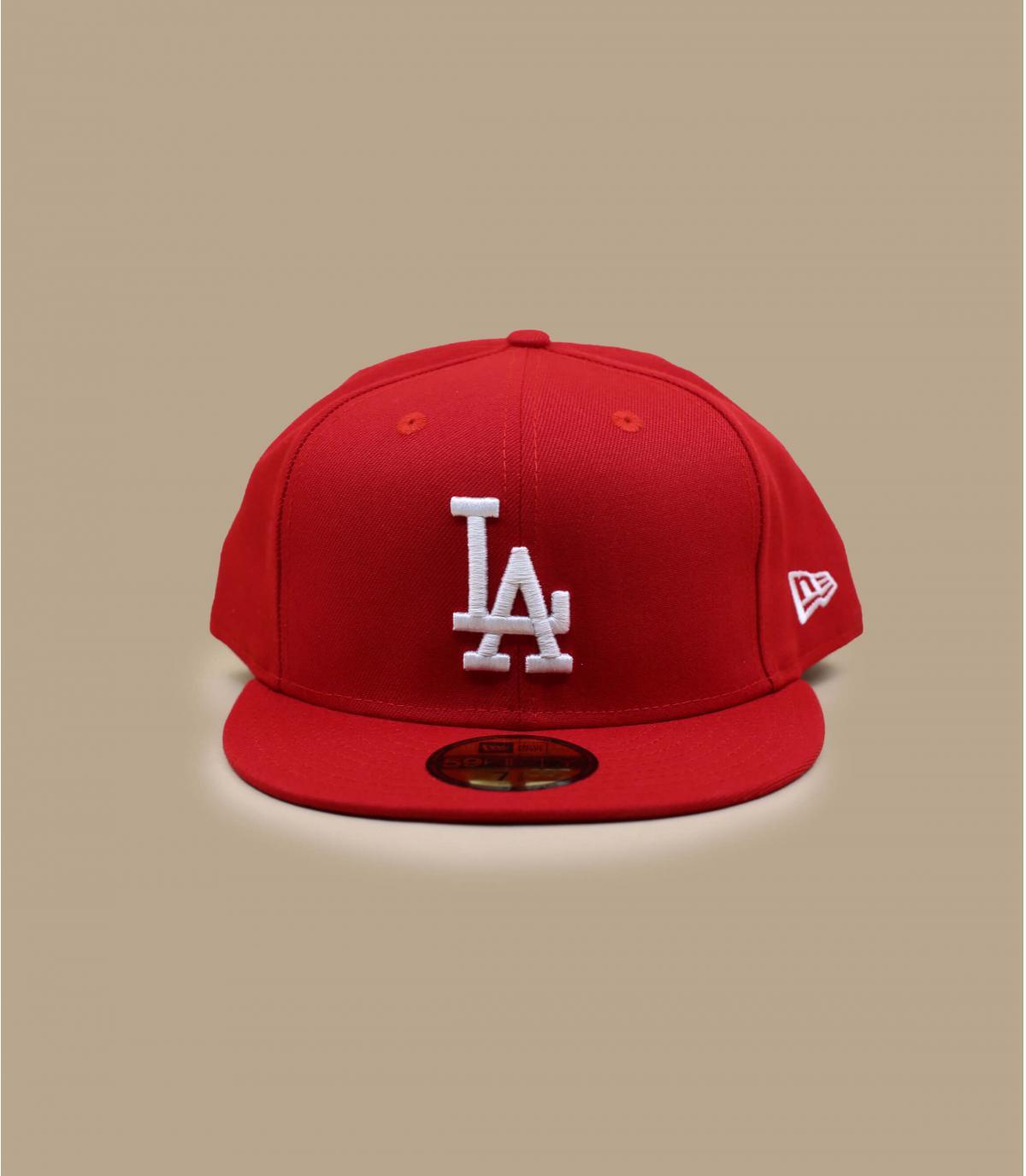 Cap LA red