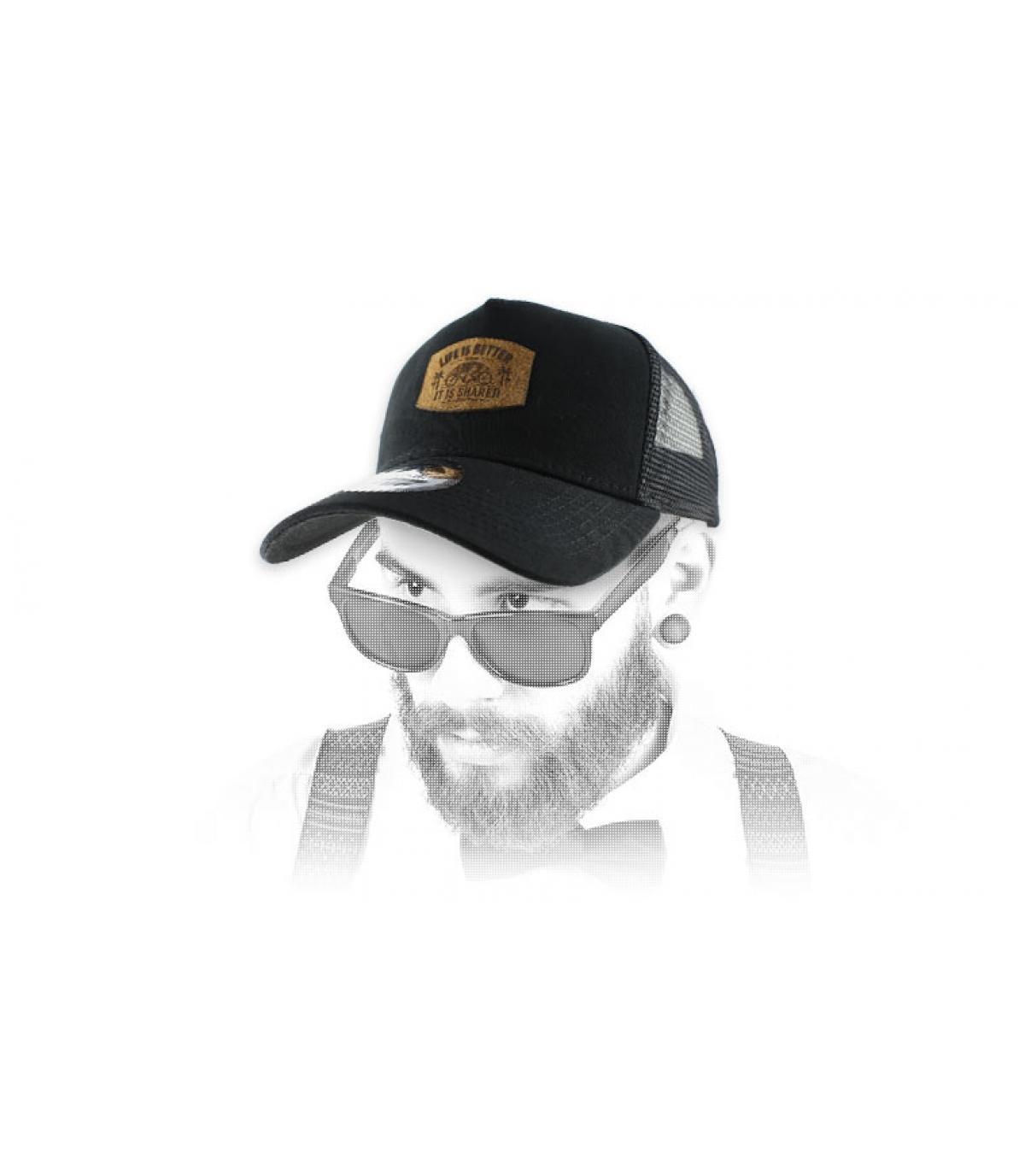 Tandem berretto nero