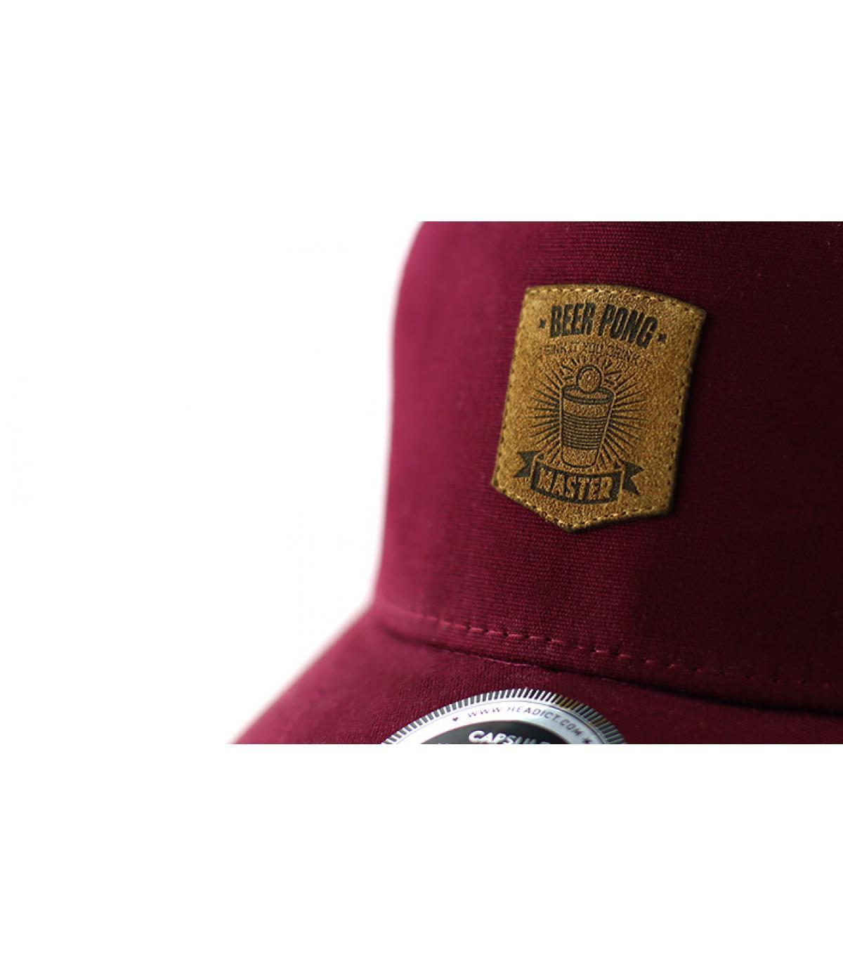 Dettagli Curve Beer Pong burgundy - image 3