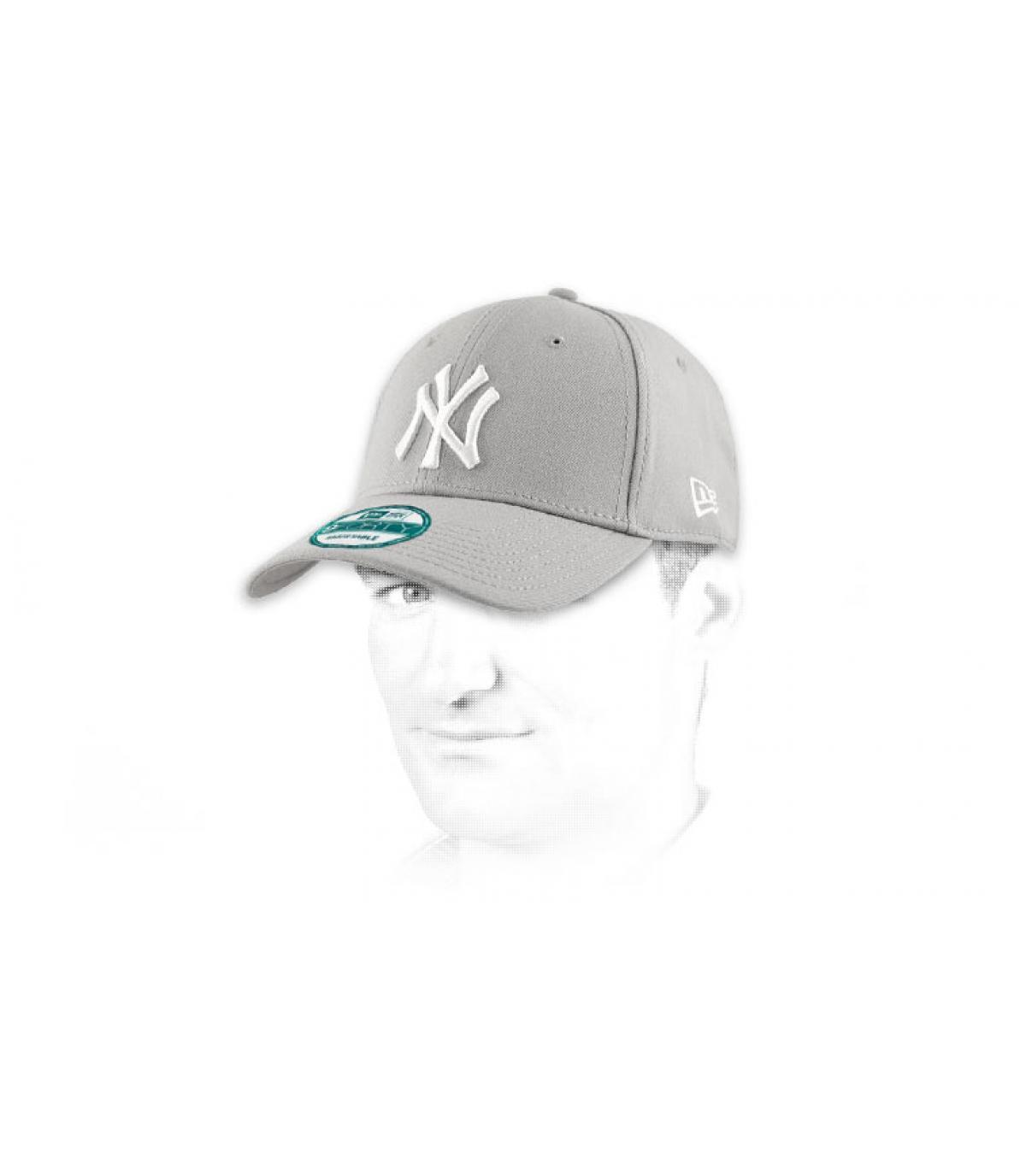Dettagli League Ess NY 9forty grey white - image 5