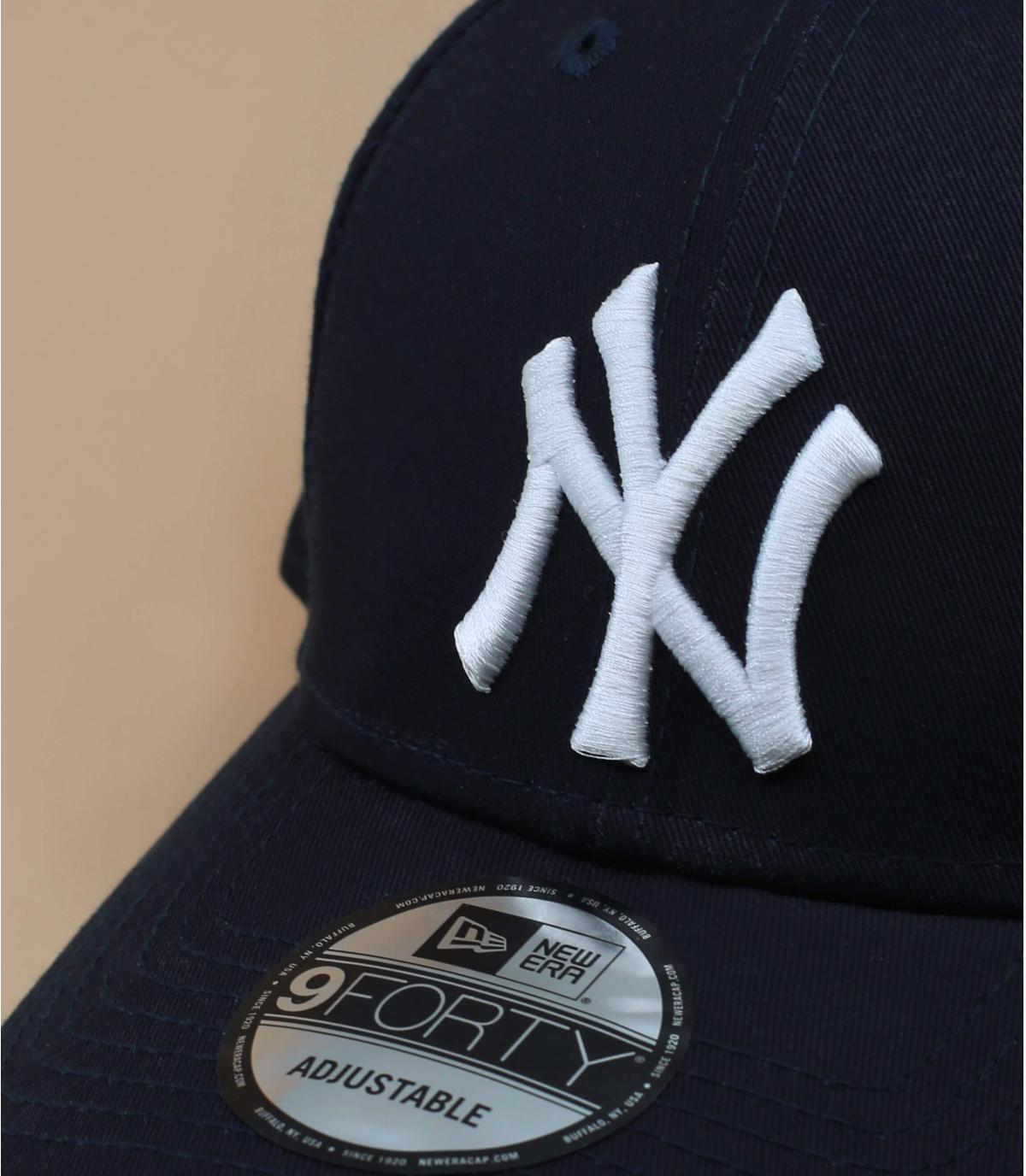 Dettagli League Ess NY 9Forty navy white - image 3